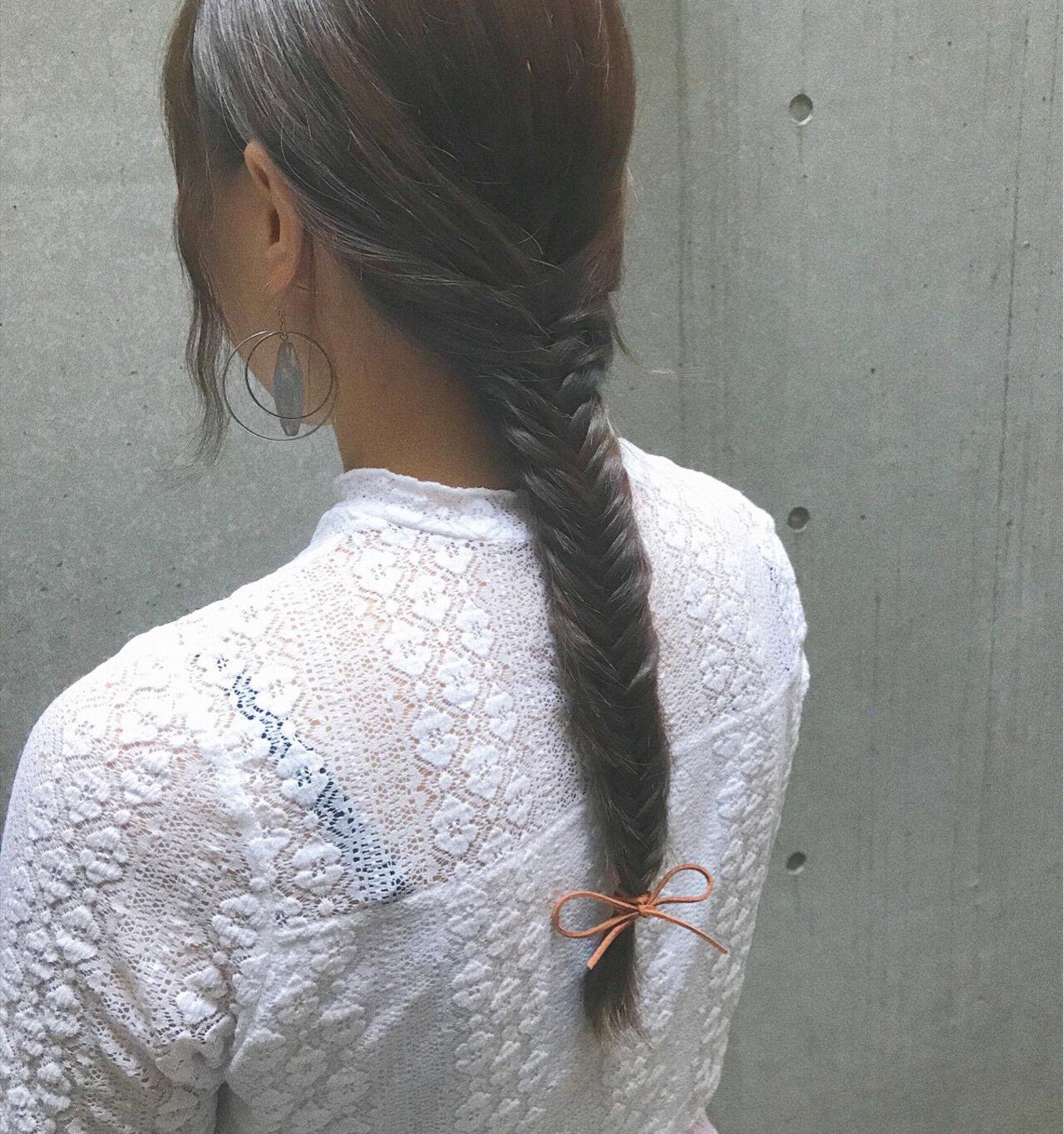 ガーリー 秋 ヘアアレンジ 冬ヘアスタイルや髪型の写真・画像