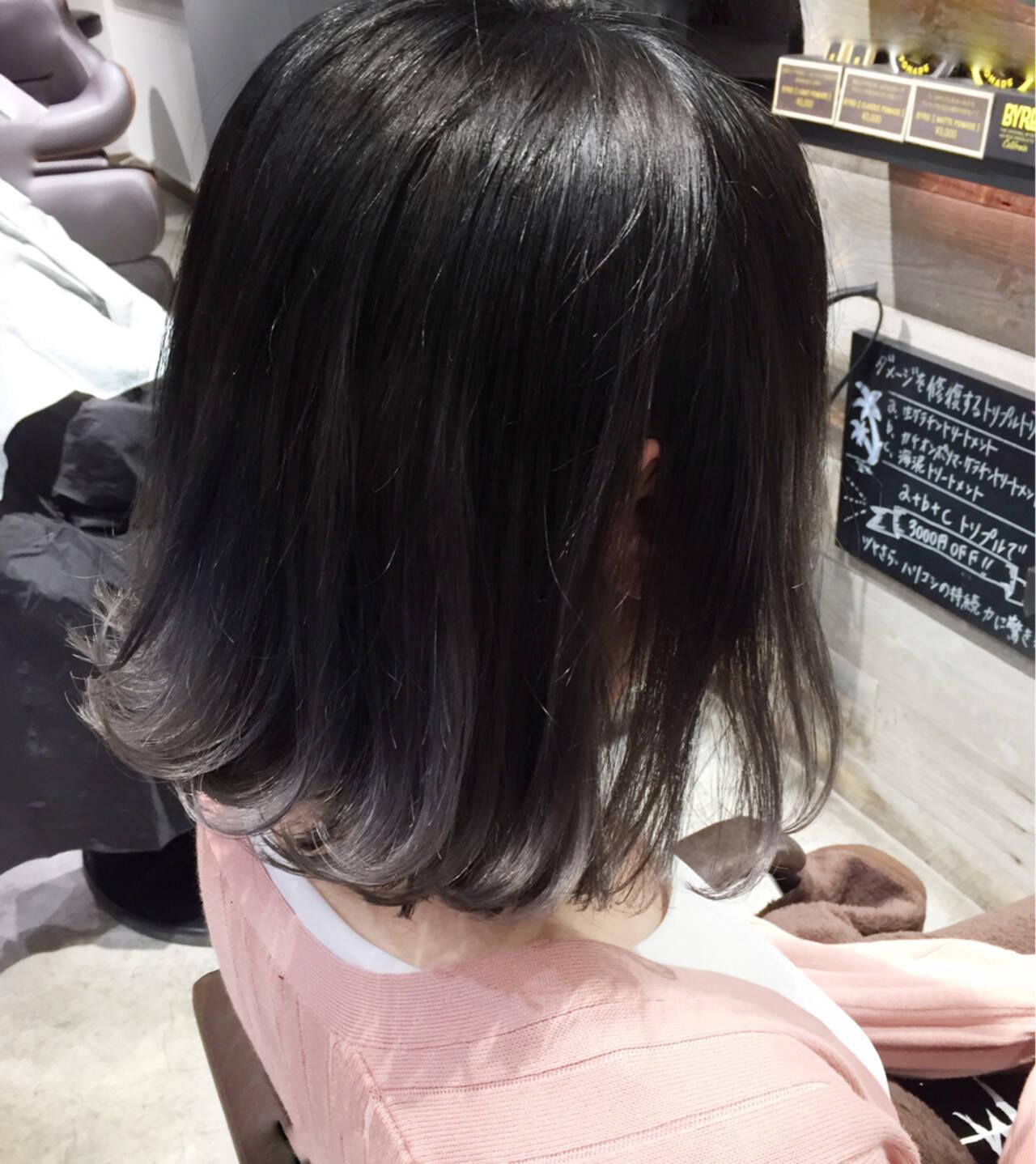 ハイライト グレージュ 外国人風 ストリートヘアスタイルや髪型の写真・画像