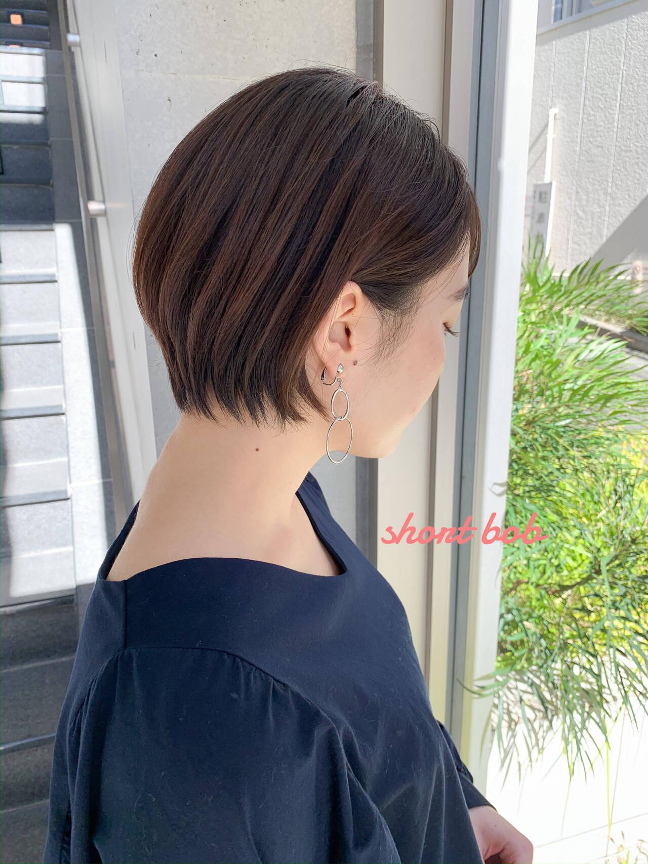 ショートヘア 小顔ショート 大人可愛い ショートヘアスタイルや髪型の写真・画像
