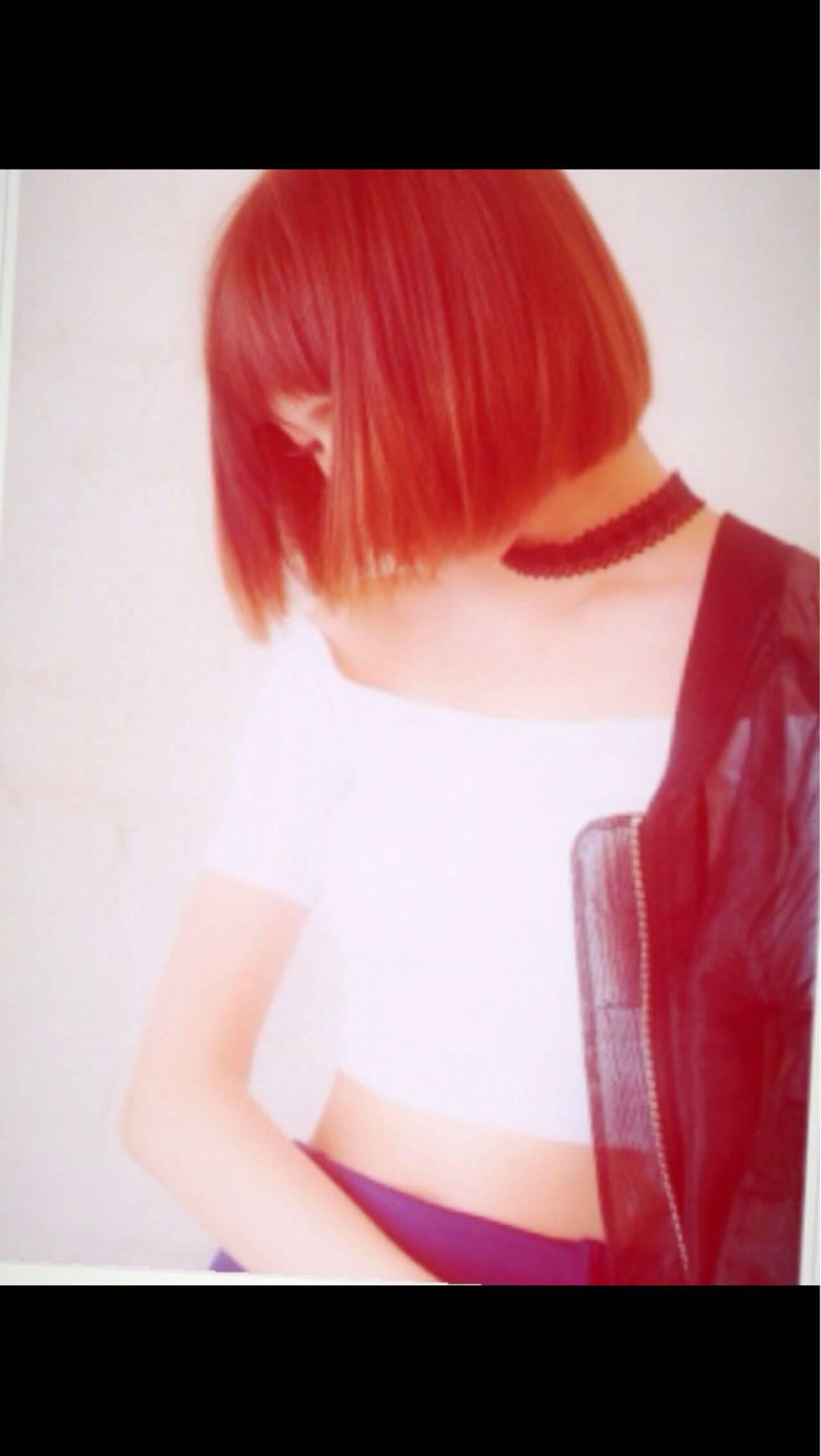ストレート ボブ モード 秋ヘアスタイルや髪型の写真・画像