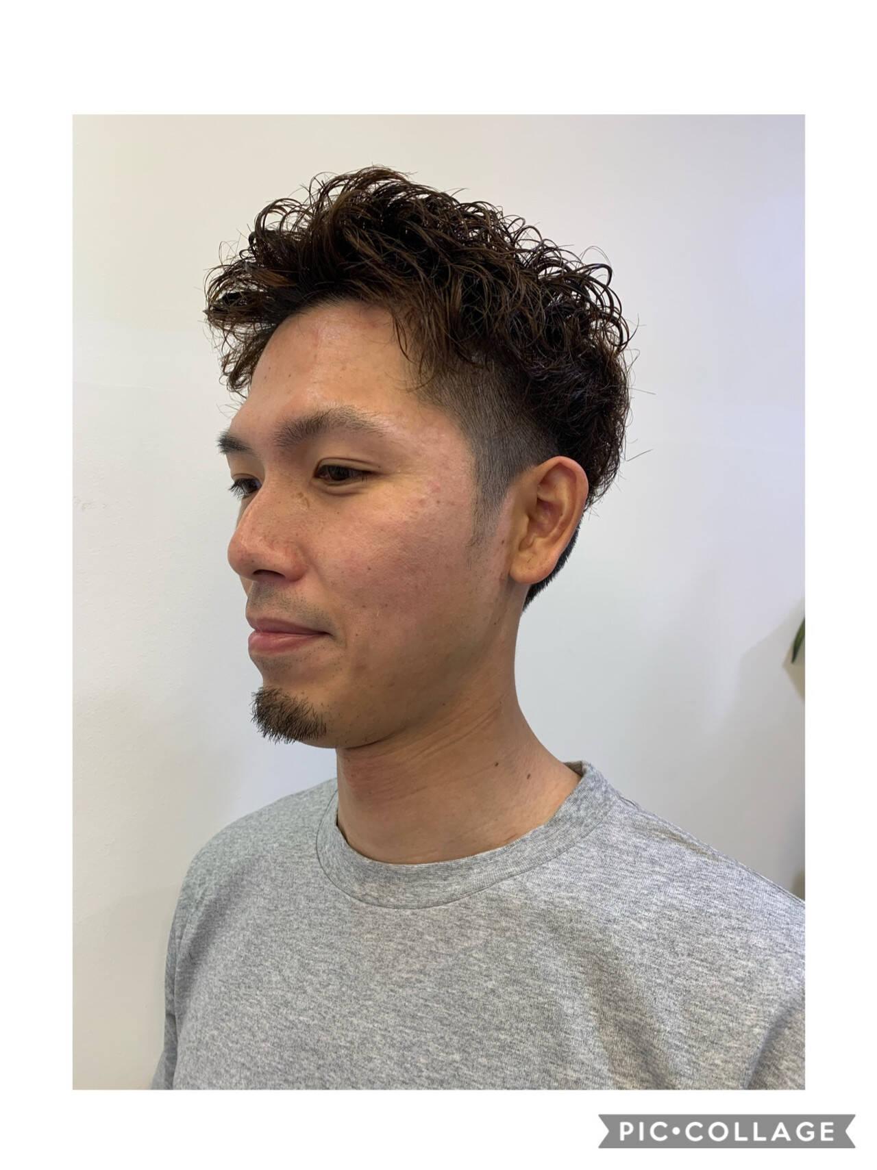 ストリート メンズカット メンズヘア ショートヘアスタイルや髪型の写真・画像