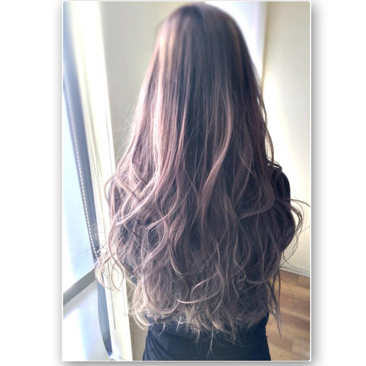 大人かわいい アッシュ グラデーションカラー 春ヘアスタイルや髪型の写真・画像
