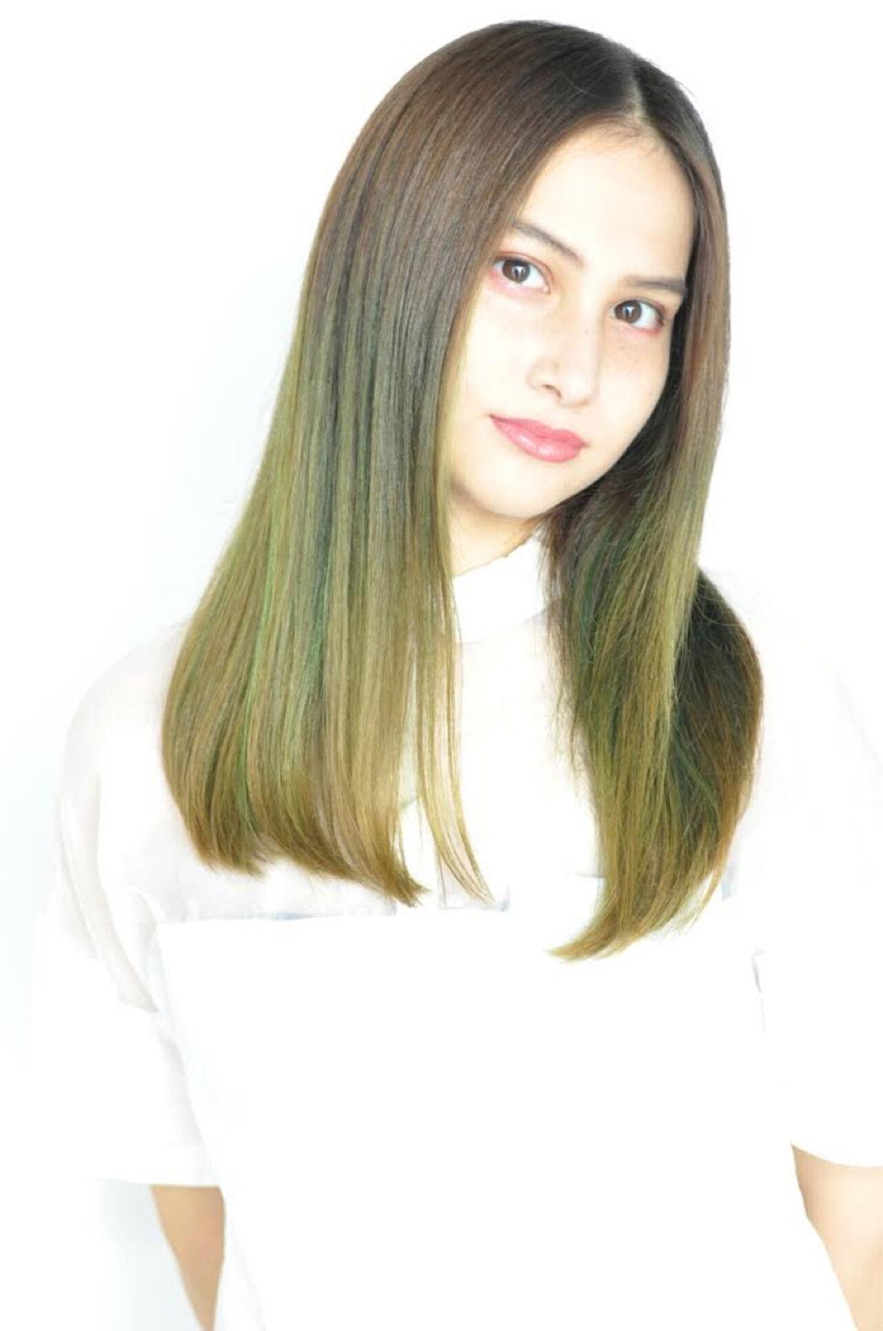 ハロウィン ストリート 外国人風カラー セクシーヘアスタイルや髪型の写真・画像