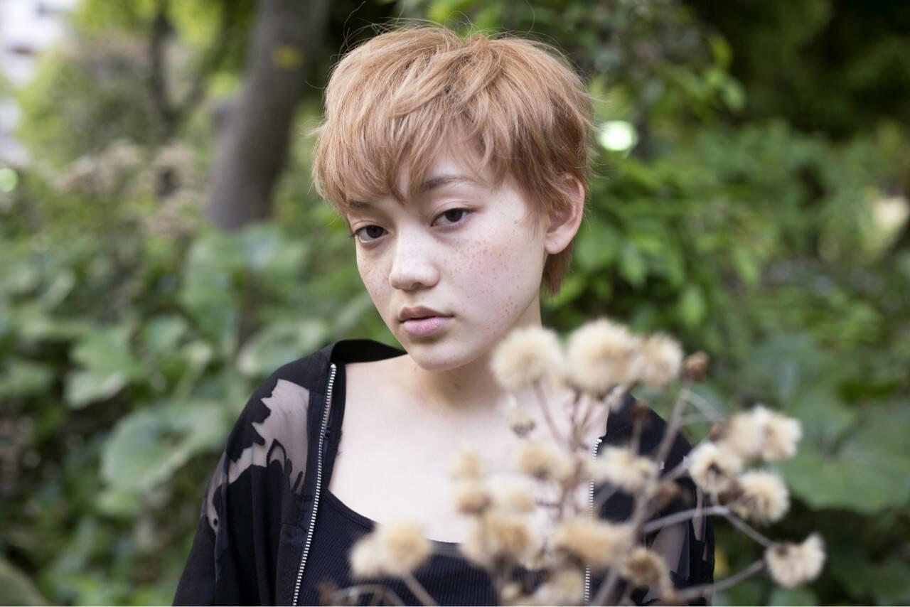 金髪 似合わせ かわいい ナチュラルヘアスタイルや髪型の写真・画像