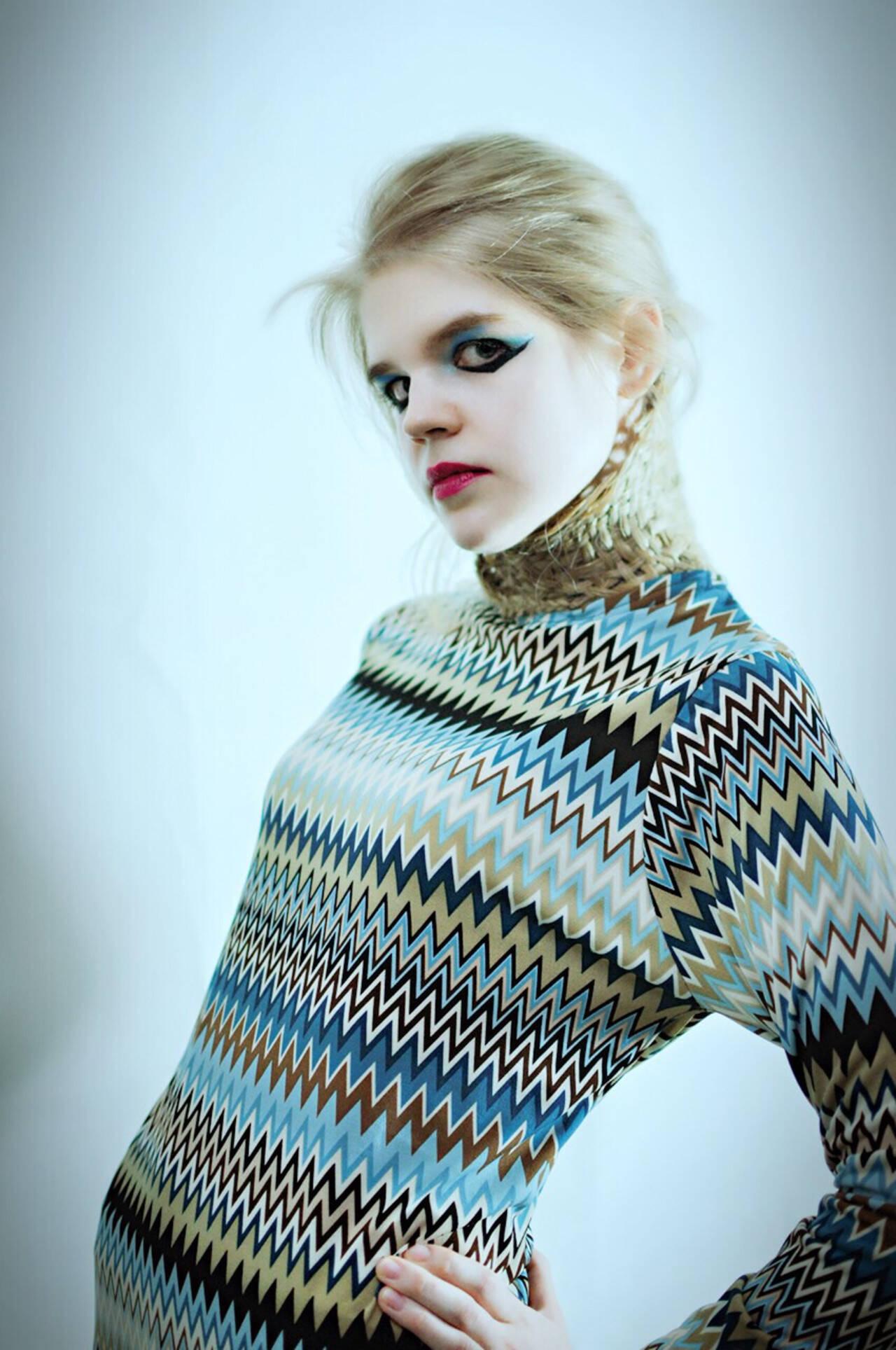 編み込み 外国人風 モード かっこいいヘアスタイルや髪型の写真・画像