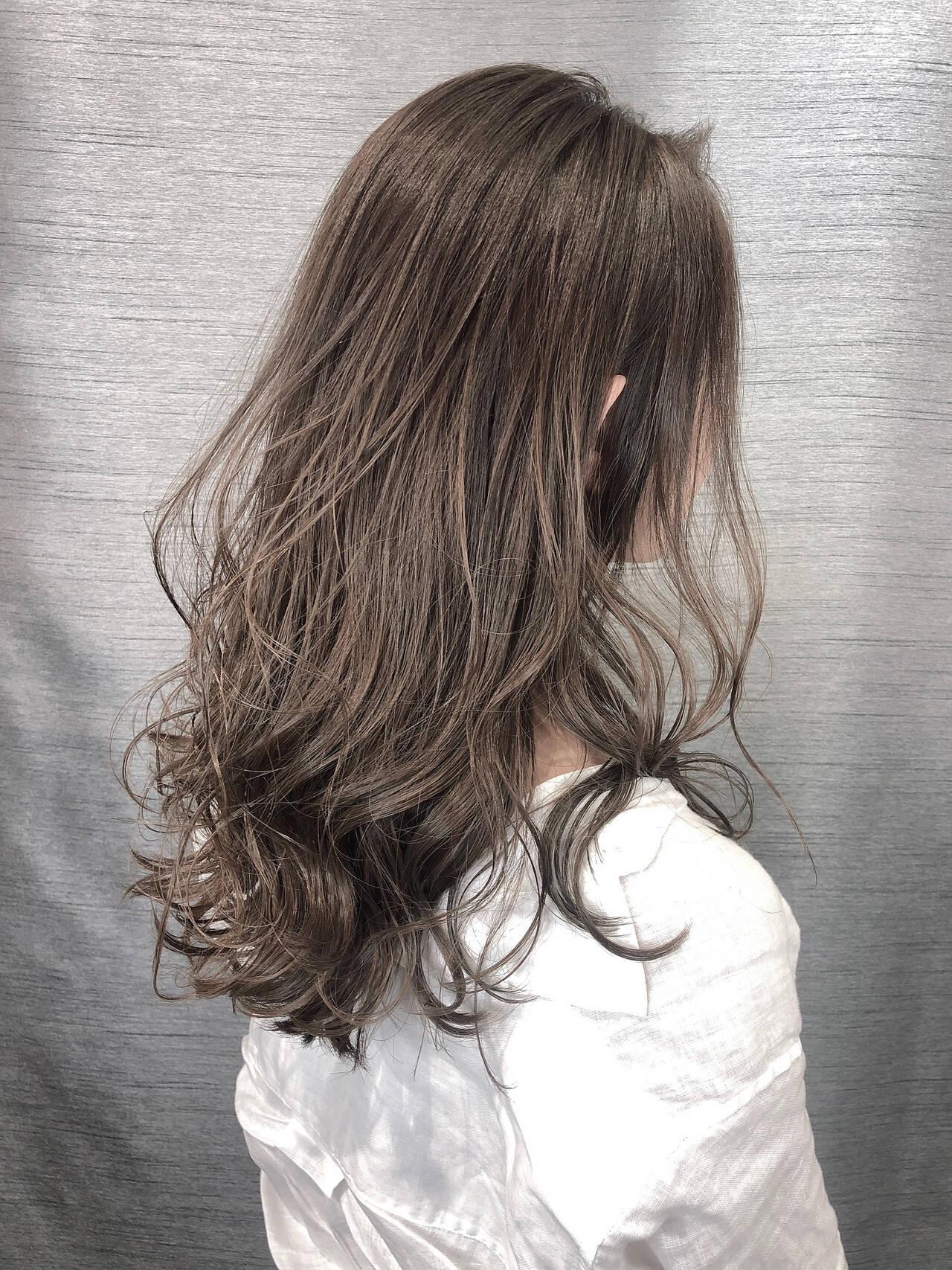 圧倒的透明感 透明感カラー ナチュラル おしゃれさんと繋がりたいヘアスタイルや髪型の写真・画像