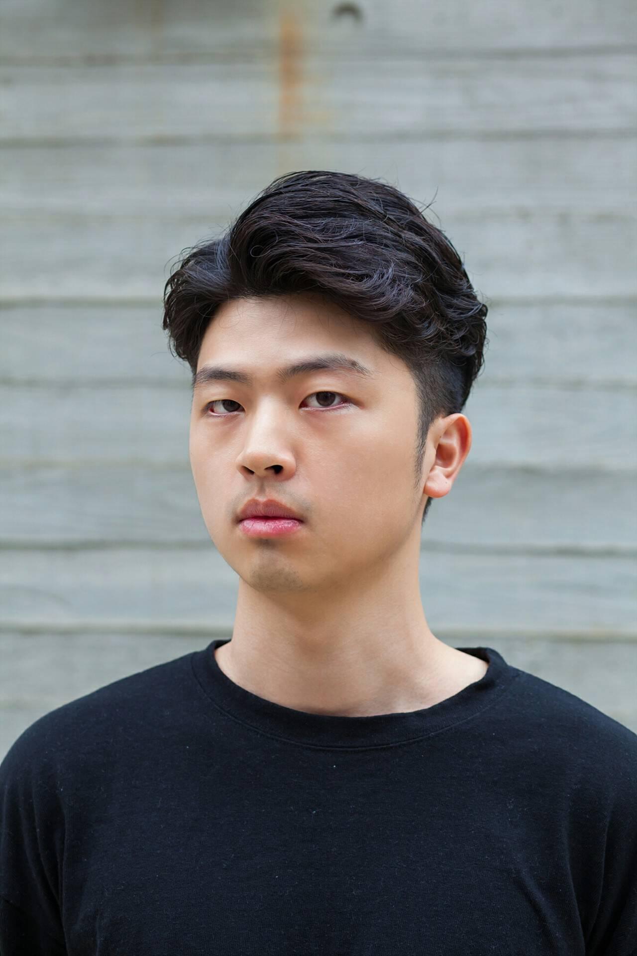 ナチュラル ショート 韓国ヘアスタイルや髪型の写真・画像