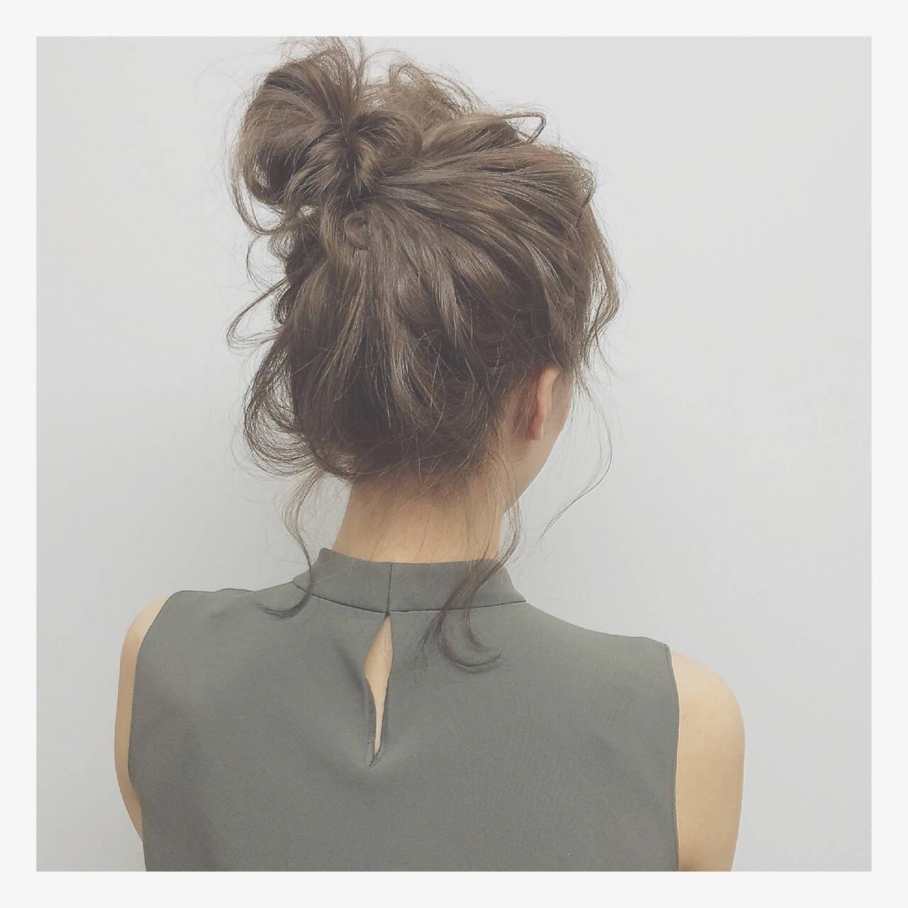 ミディアム ストリート 外国人風 ヘアアレンジヘアスタイルや髪型の写真・画像