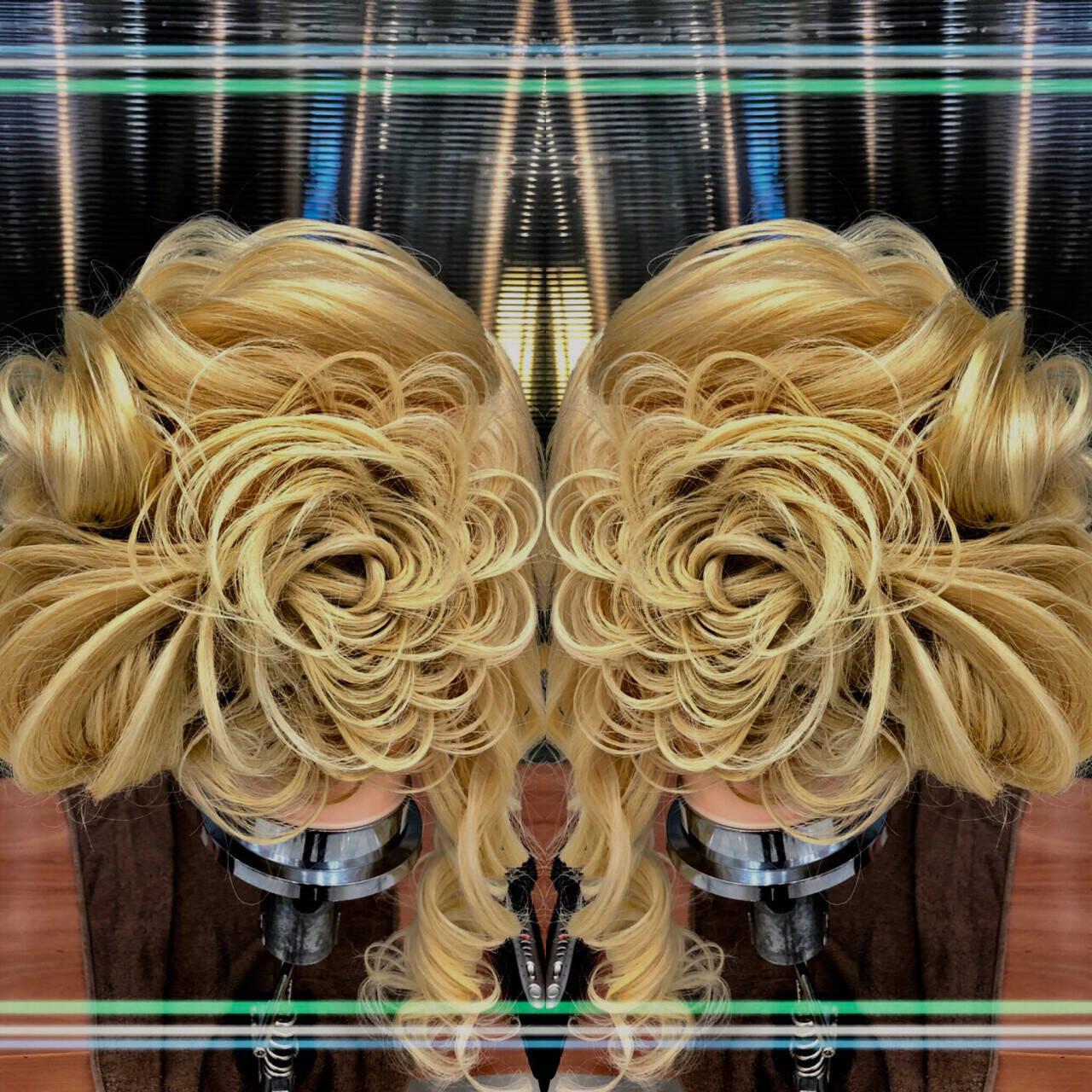 成人式 結婚式 上品 パーティヘアスタイルや髪型の写真・画像