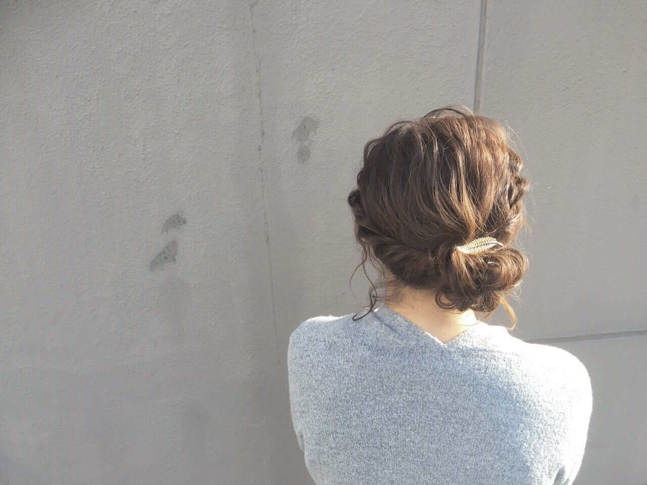 大人女子 ボブ ヘアアレンジ こなれ感ヘアスタイルや髪型の写真・画像