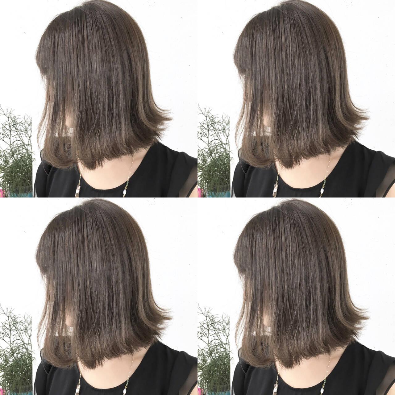 暗髪 ナチュラル 色気 外国人風ヘアスタイルや髪型の写真・画像