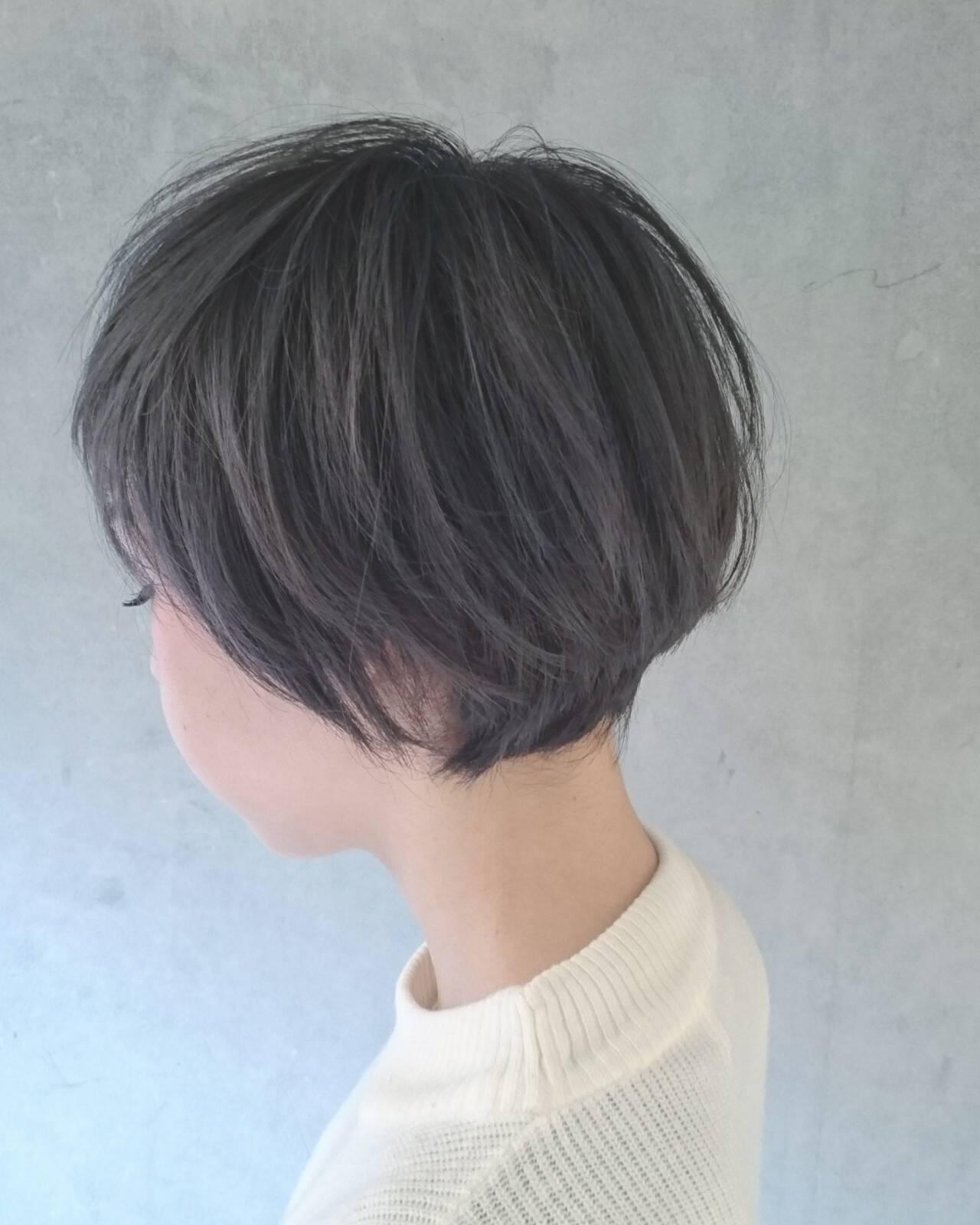 グレー 外国人風 外国人風カラー フェミニンヘアスタイルや髪型の写真・画像