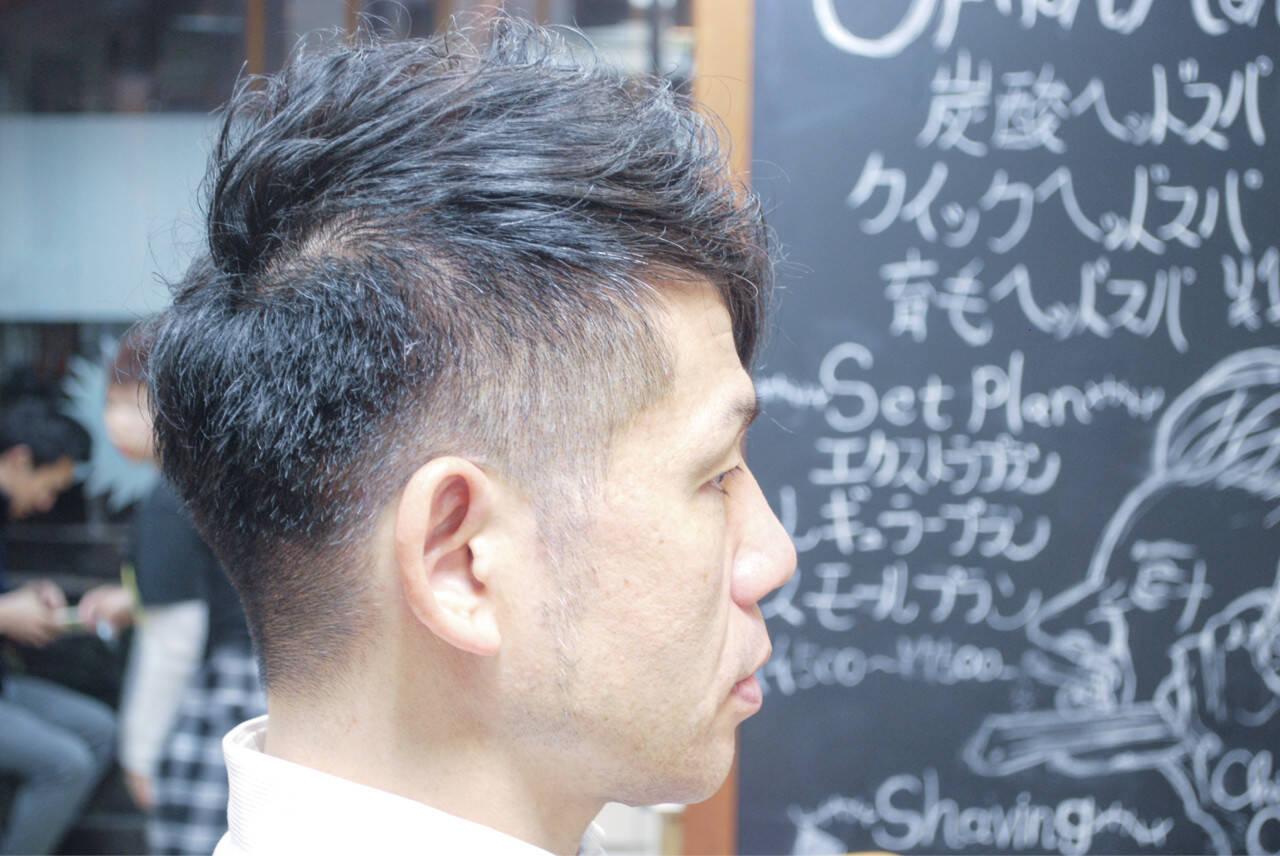 メンズ ボブ ベリーショート ストリートヘアスタイルや髪型の写真・画像