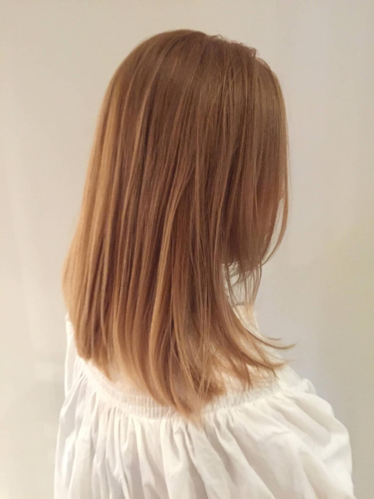 ハイトーン ハイライト ストリート 金髪ヘアスタイルや髪型の写真・画像