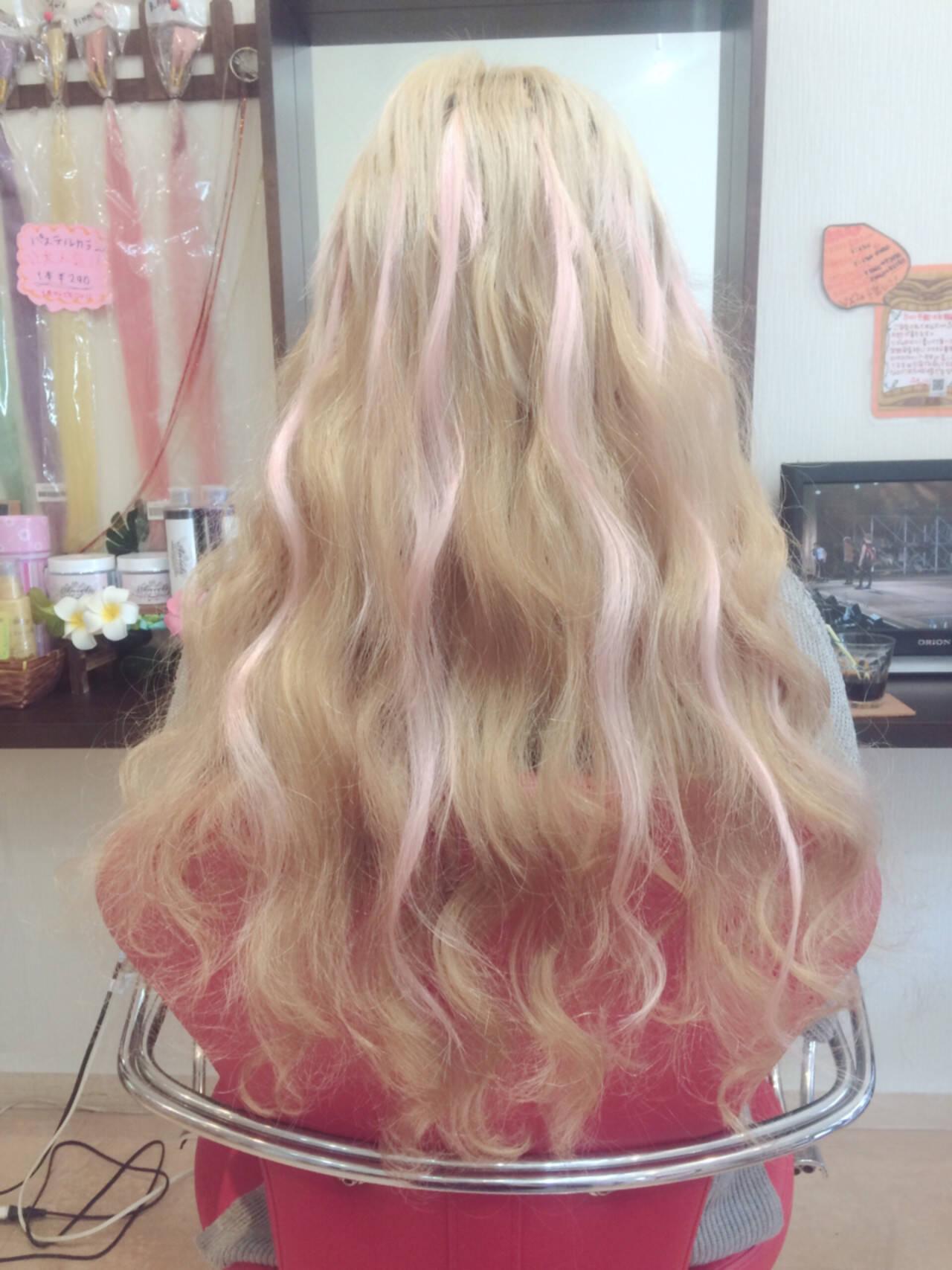 愛され モテ髪 パーマ ガーリーヘアスタイルや髪型の写真・画像