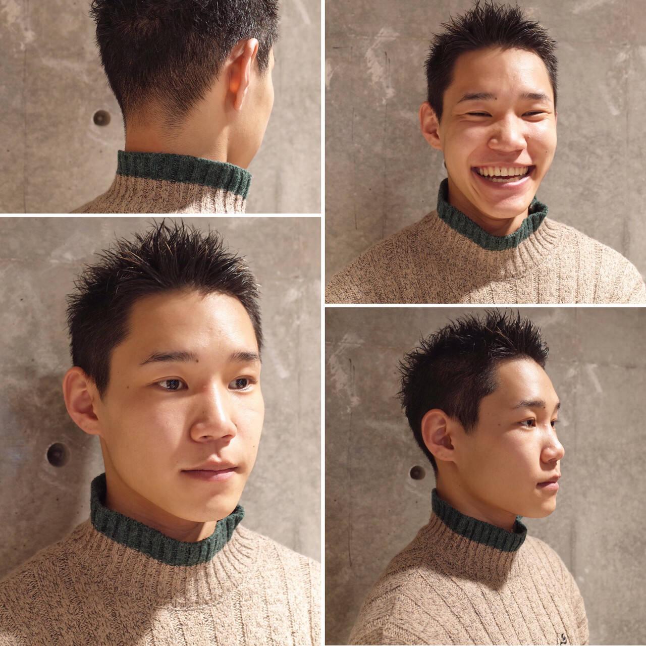 ストリート メンズヘア メンズショート ツーブロックヘアスタイルや髪型の写真・画像