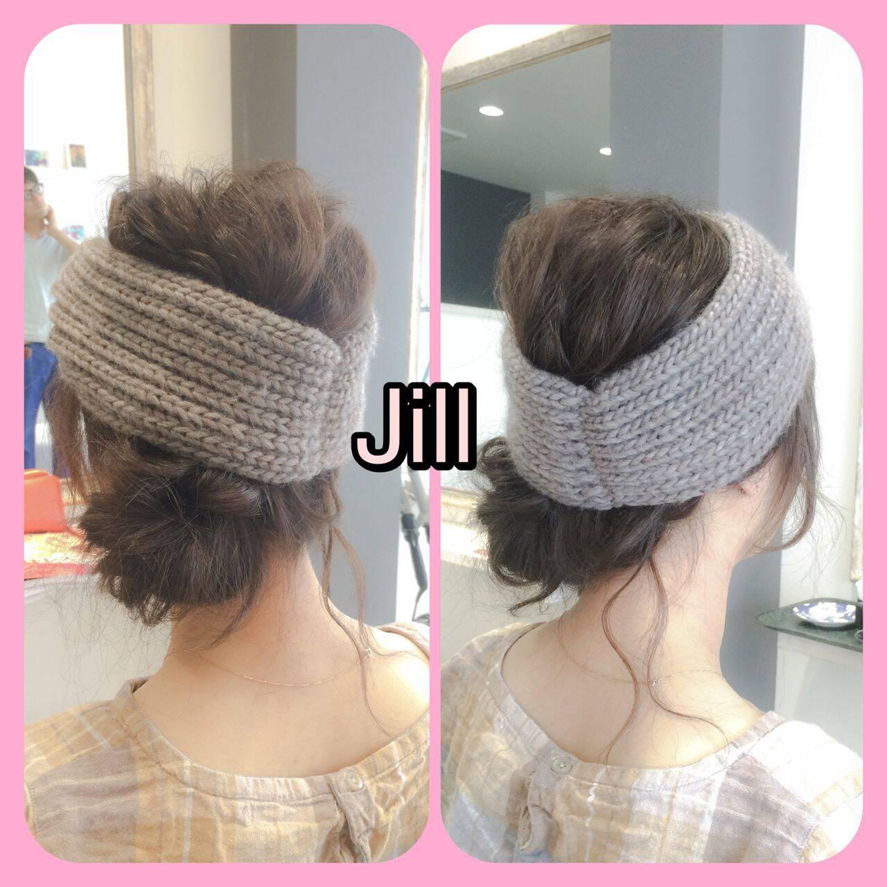 ヘアアクセ モテ髪 簡単ヘアアレンジ ショートヘアスタイルや髪型の写真・画像