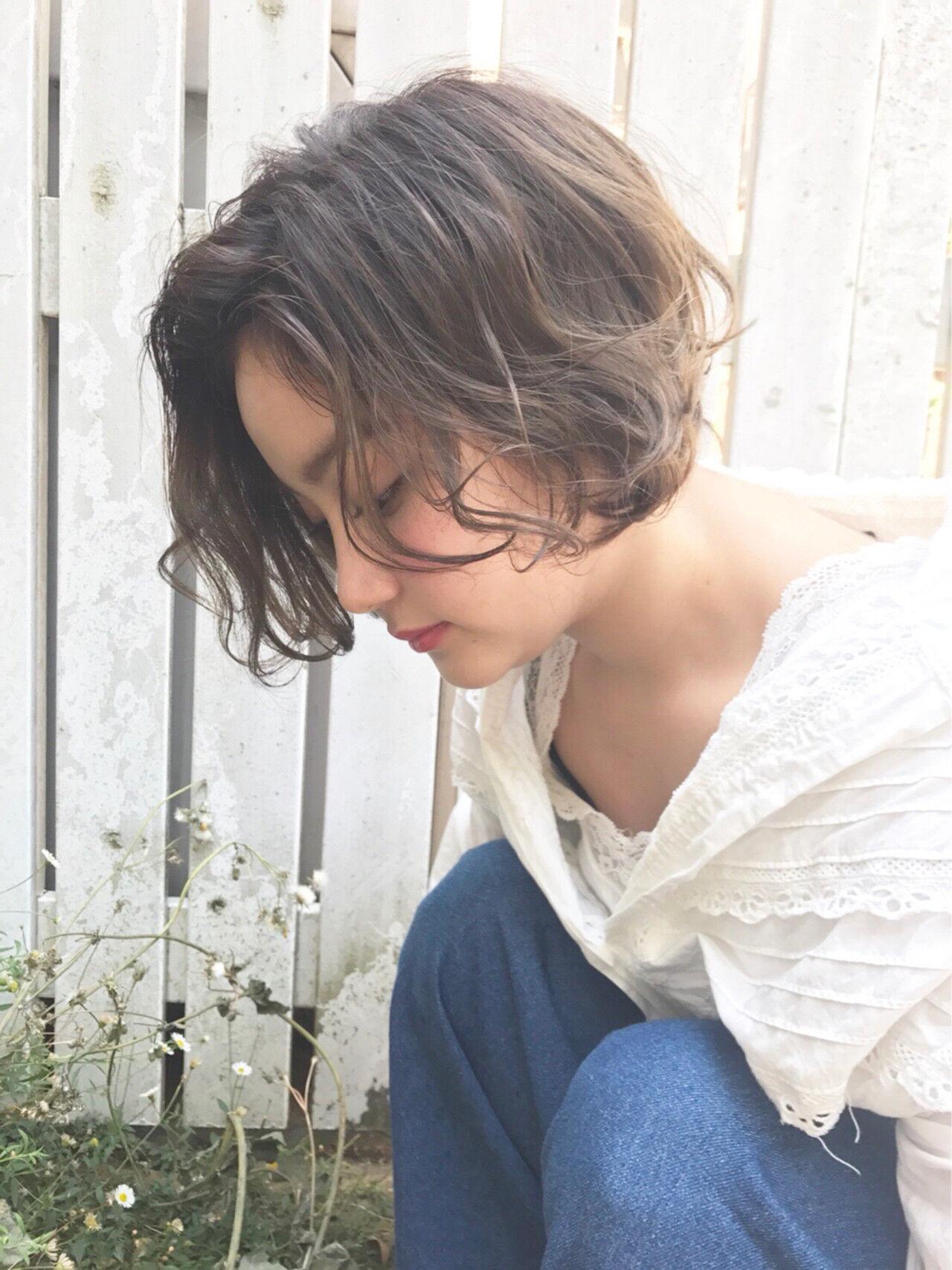 ショート ヘアアレンジ ガーリーヘアスタイルや髪型の写真・画像