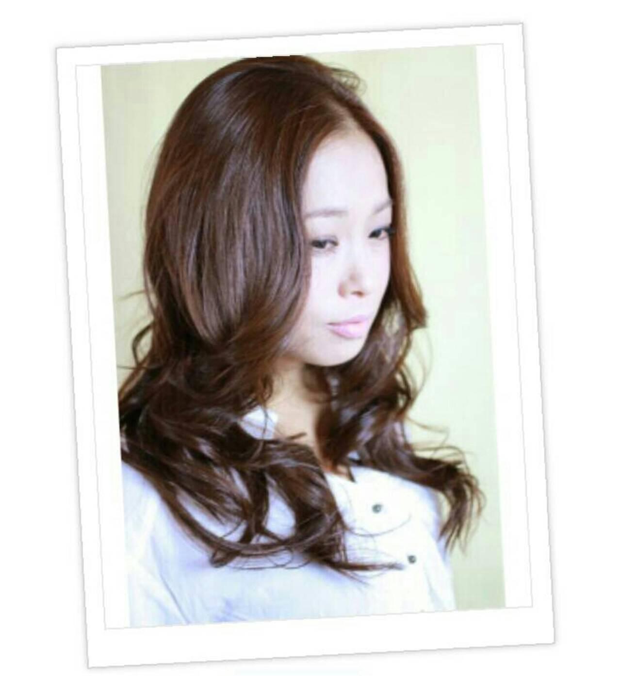 セミロング かわいい モテ髪 大人かわいいヘアスタイルや髪型の写真・画像