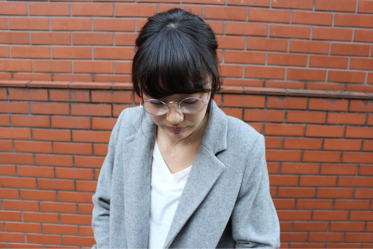 外国人風 ナチュラル ゆるふわ 簡単ヘアアレンジヘアスタイルや髪型の写真・画像