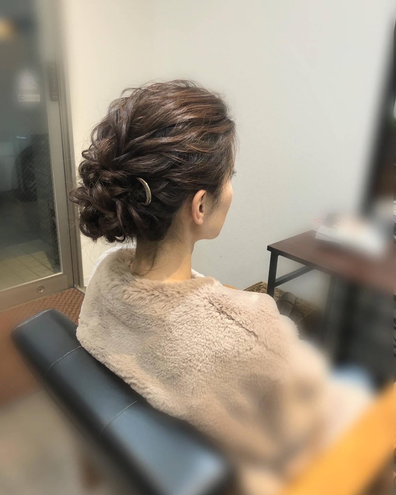 アップ 結婚式 アップスタイル 成人式ヘアヘアスタイルや髪型の写真・画像