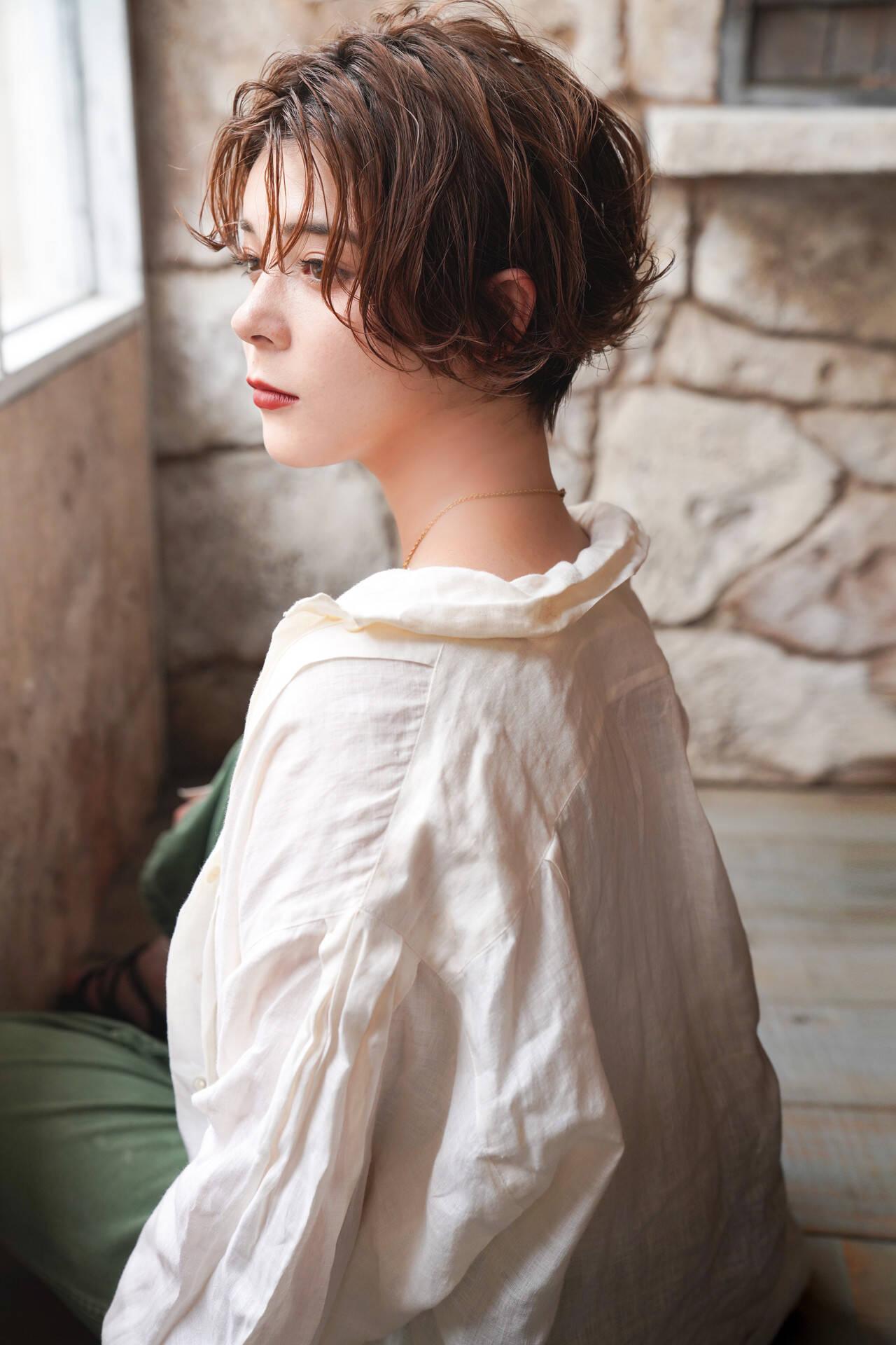 高円寺ショート ショート ベリーショート ストリートヘアスタイルや髪型の写真・画像