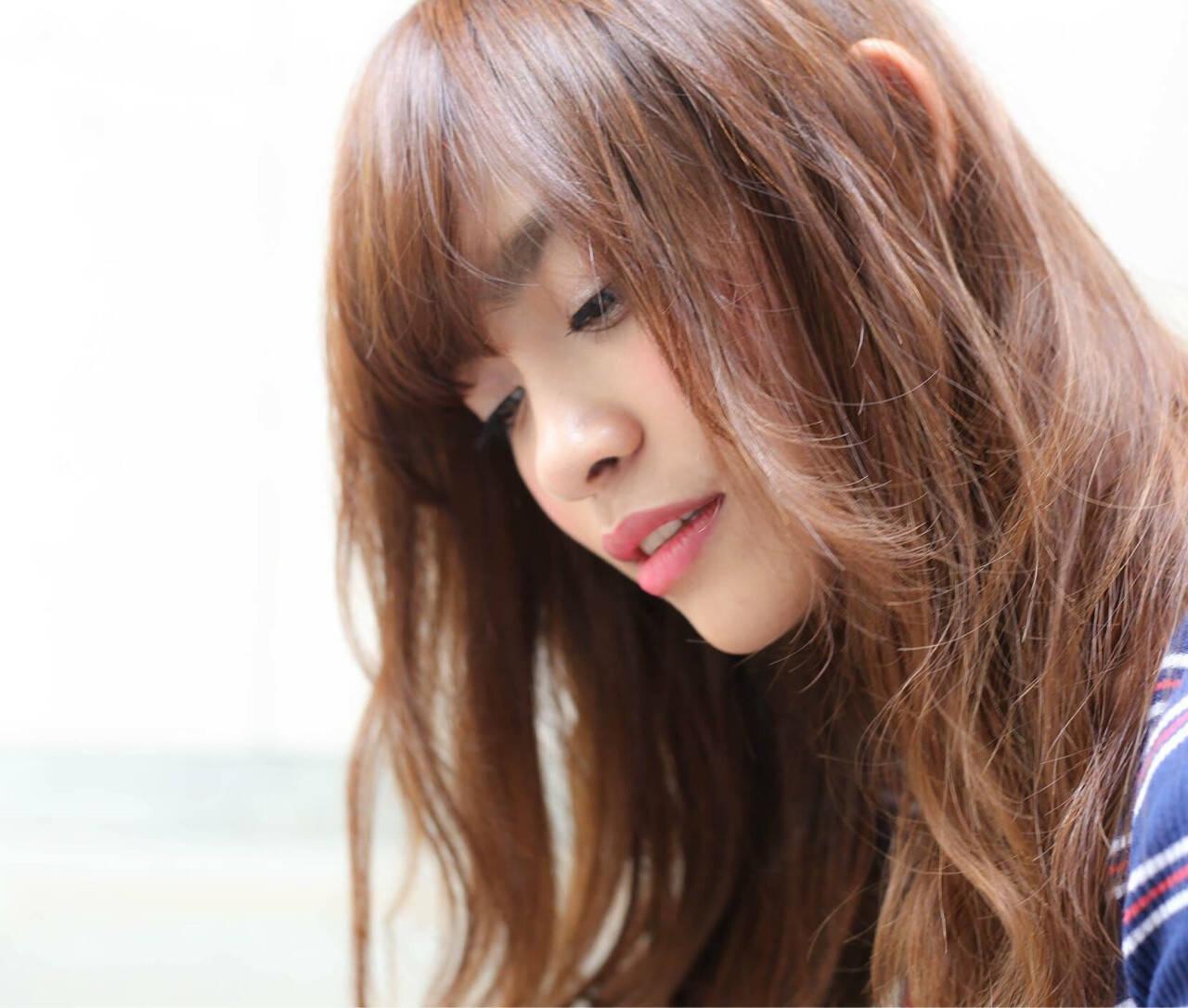 ロング ナチュラル ヘアアレンジ 外国人風ヘアスタイルや髪型の写真・画像