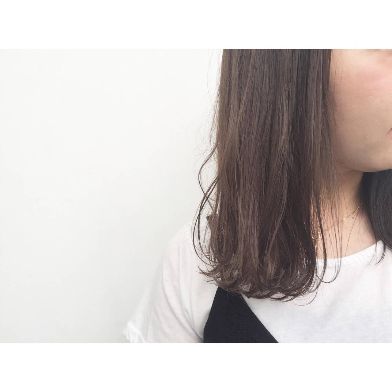 フェミニン ストリート 外国人風 アッシュヘアスタイルや髪型の写真・画像
