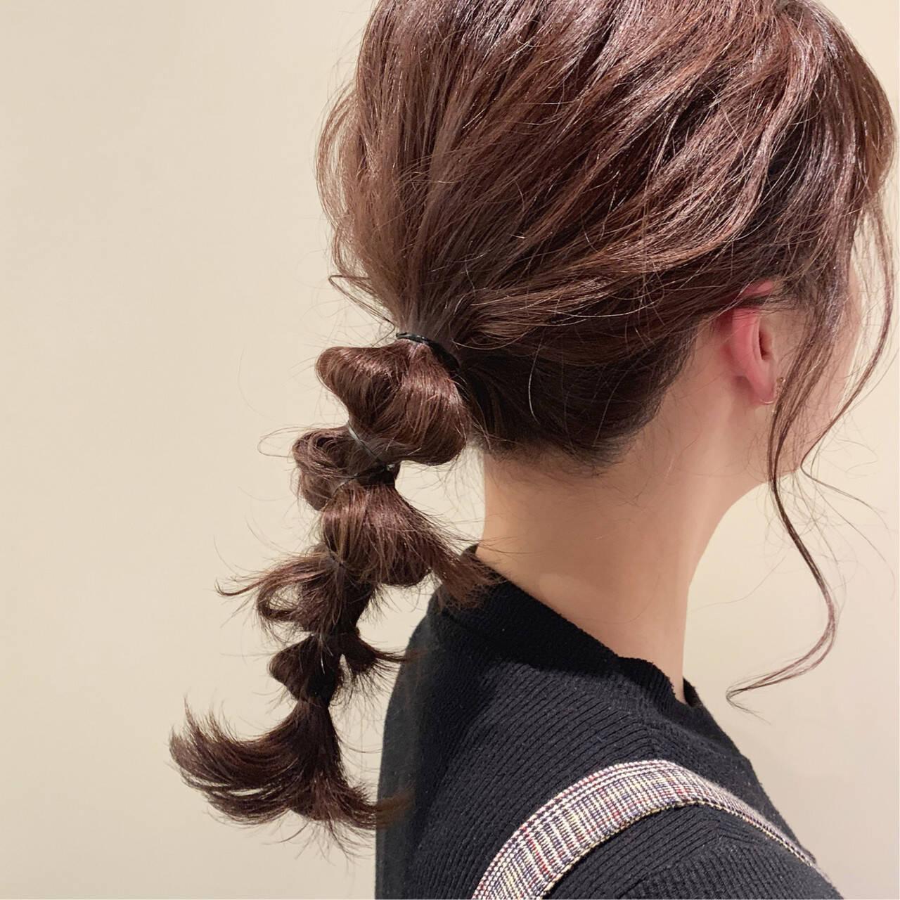 ラベンダーアッシュ セミロング ラーメンマンヘア ロブヘアスタイルや髪型の写真・画像