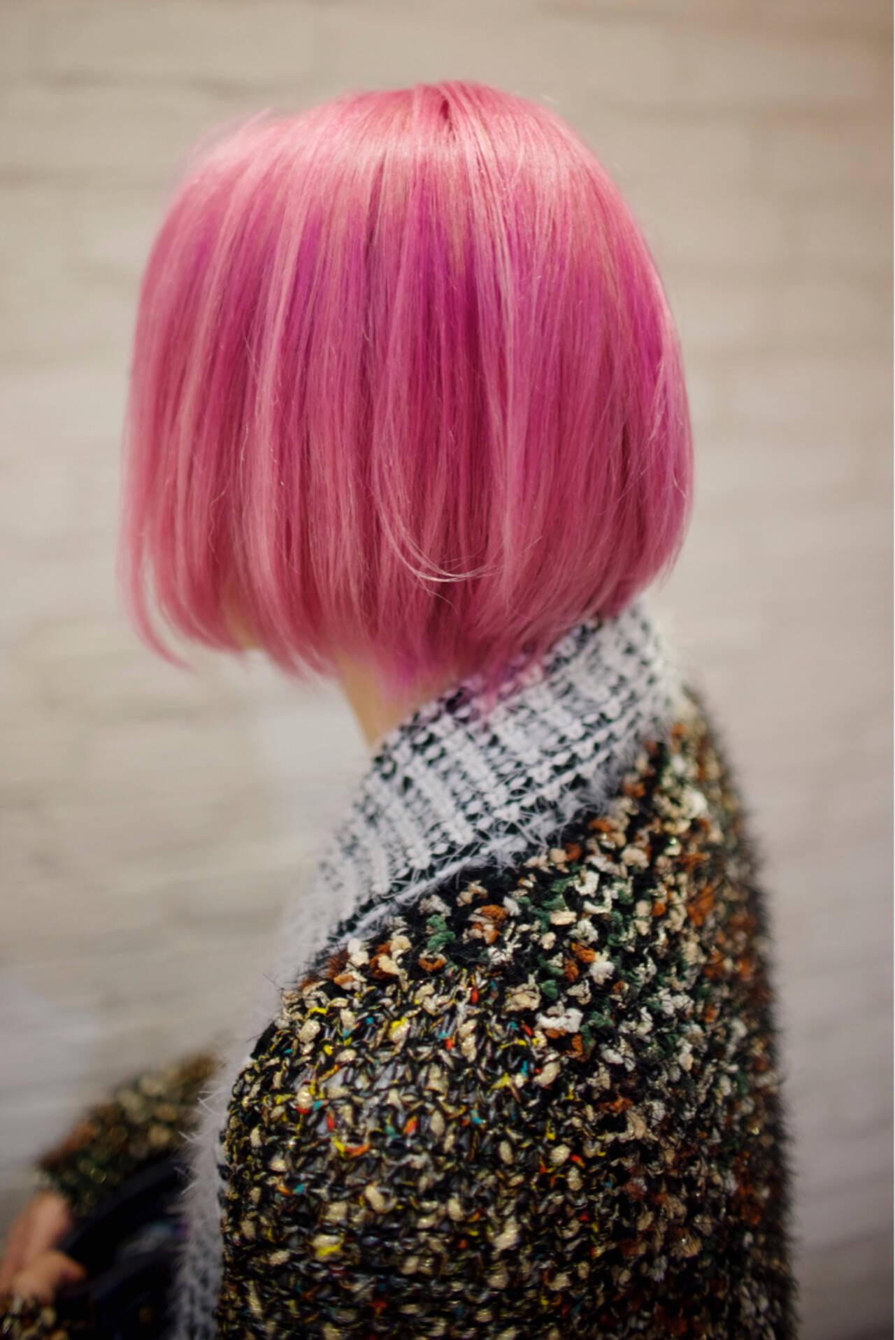 ダブルカラー ハイトーン 外国人風カラー モードヘアスタイルや髪型の写真・画像