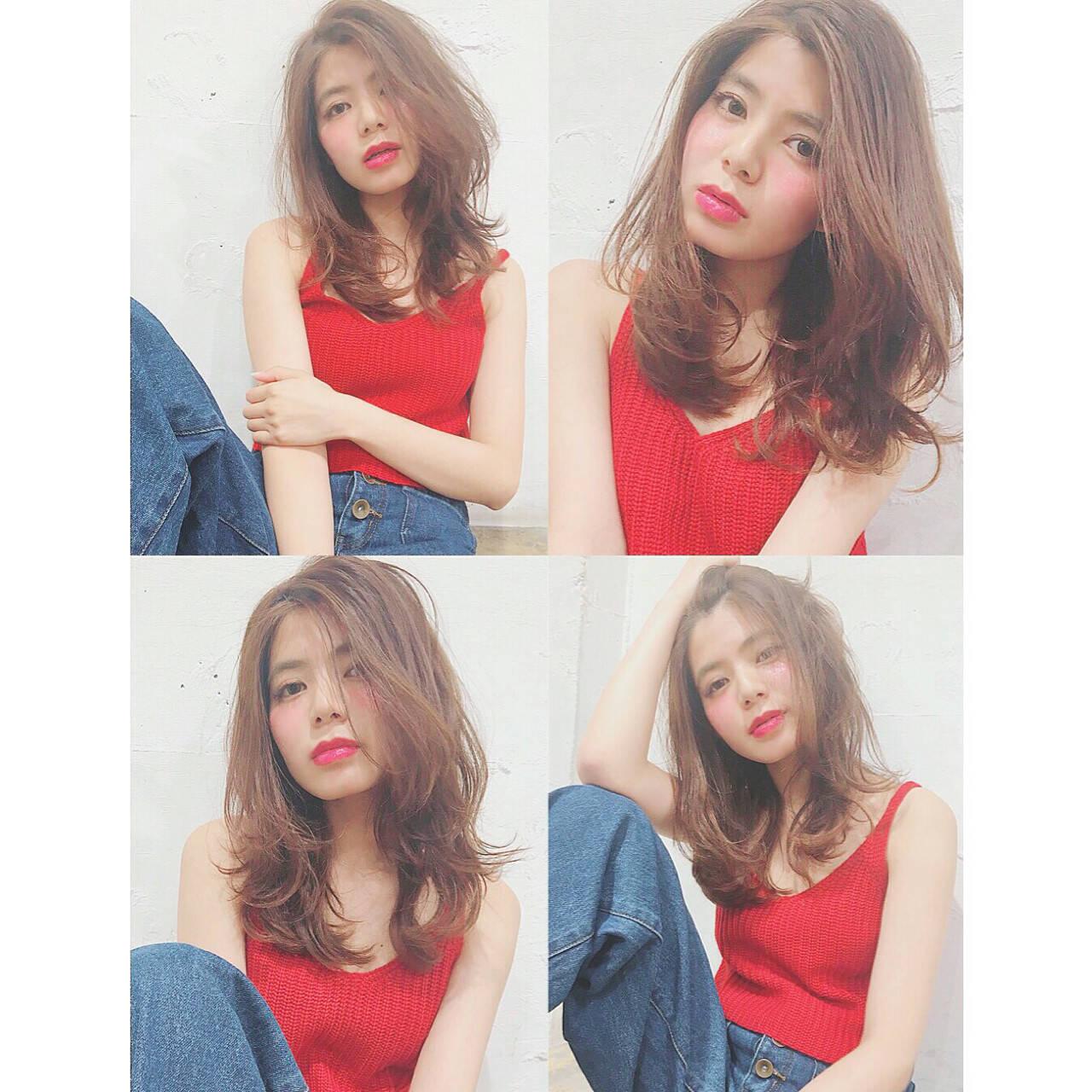 ガーリー かわいい 外国人風 大人かわいいヘアスタイルや髪型の写真・画像