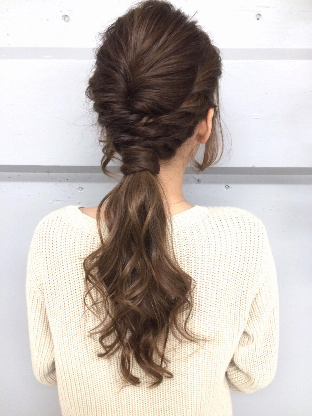 外国人風 大人かわいい ロング ショートヘアスタイルや髪型の写真・画像