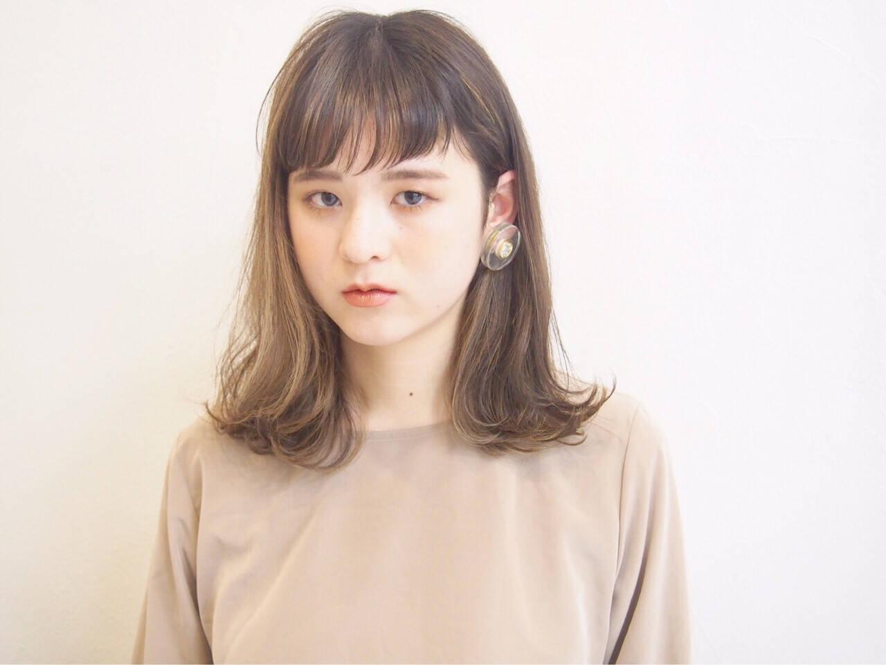 アンニュイ ハイライト 透明感 外国人風カラーヘアスタイルや髪型の写真・画像