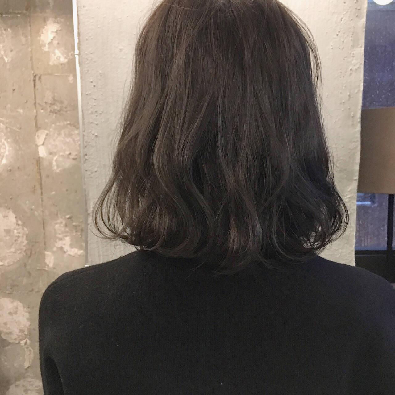 結婚式 オフィス ボブ 黒髪ヘアスタイルや髪型の写真・画像
