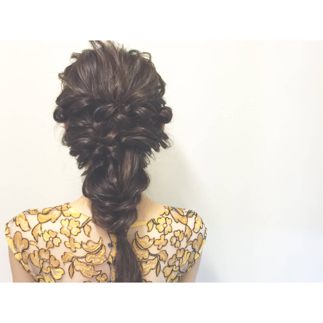 花火大会 ショート ハーフアップ 夏ヘアスタイルや髪型の写真・画像