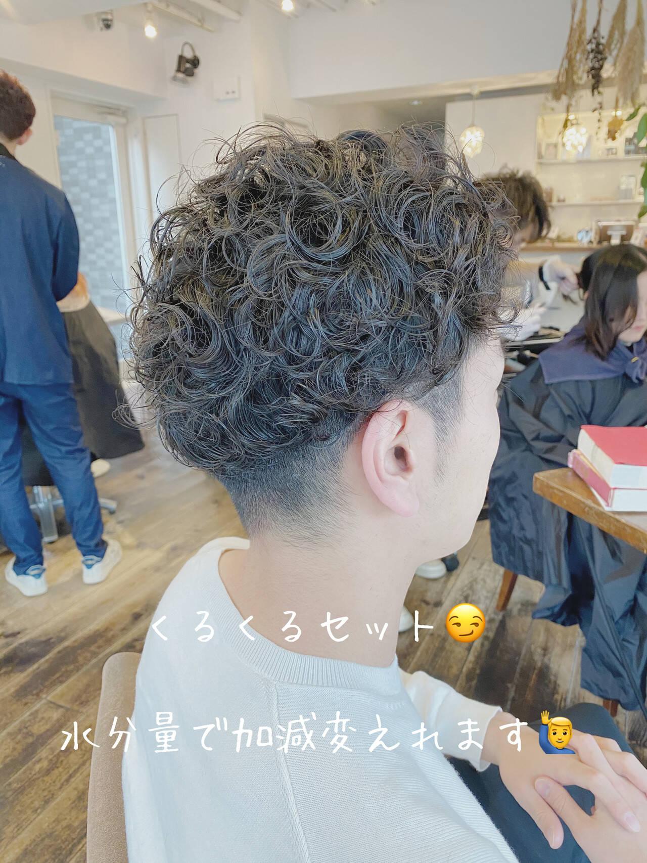 メンズカット メンズ ナチュラル メンズショートヘアスタイルや髪型の写真・画像