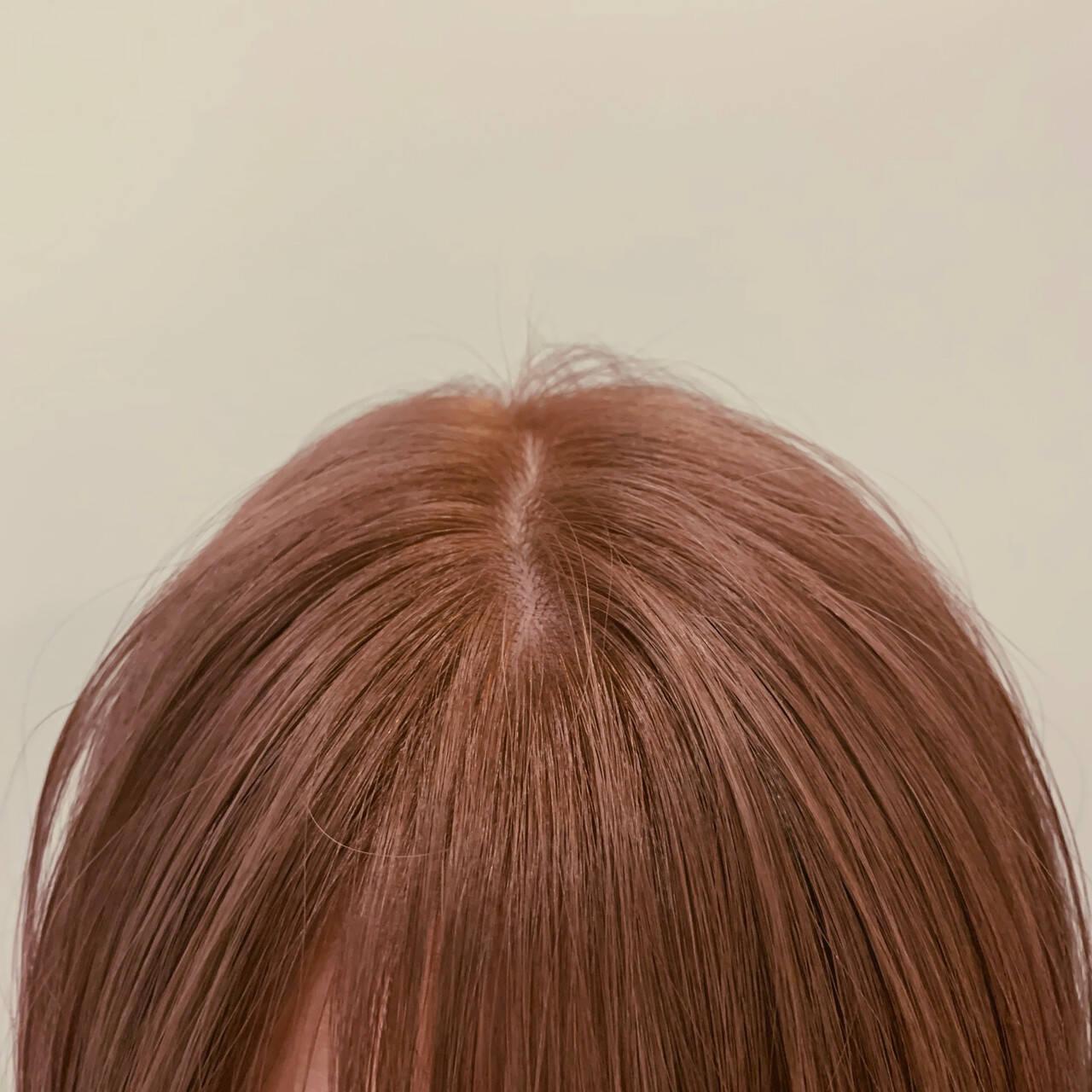 ハイトーン ショートボブ ナチュラル ボブヘアスタイルや髪型の写真・画像