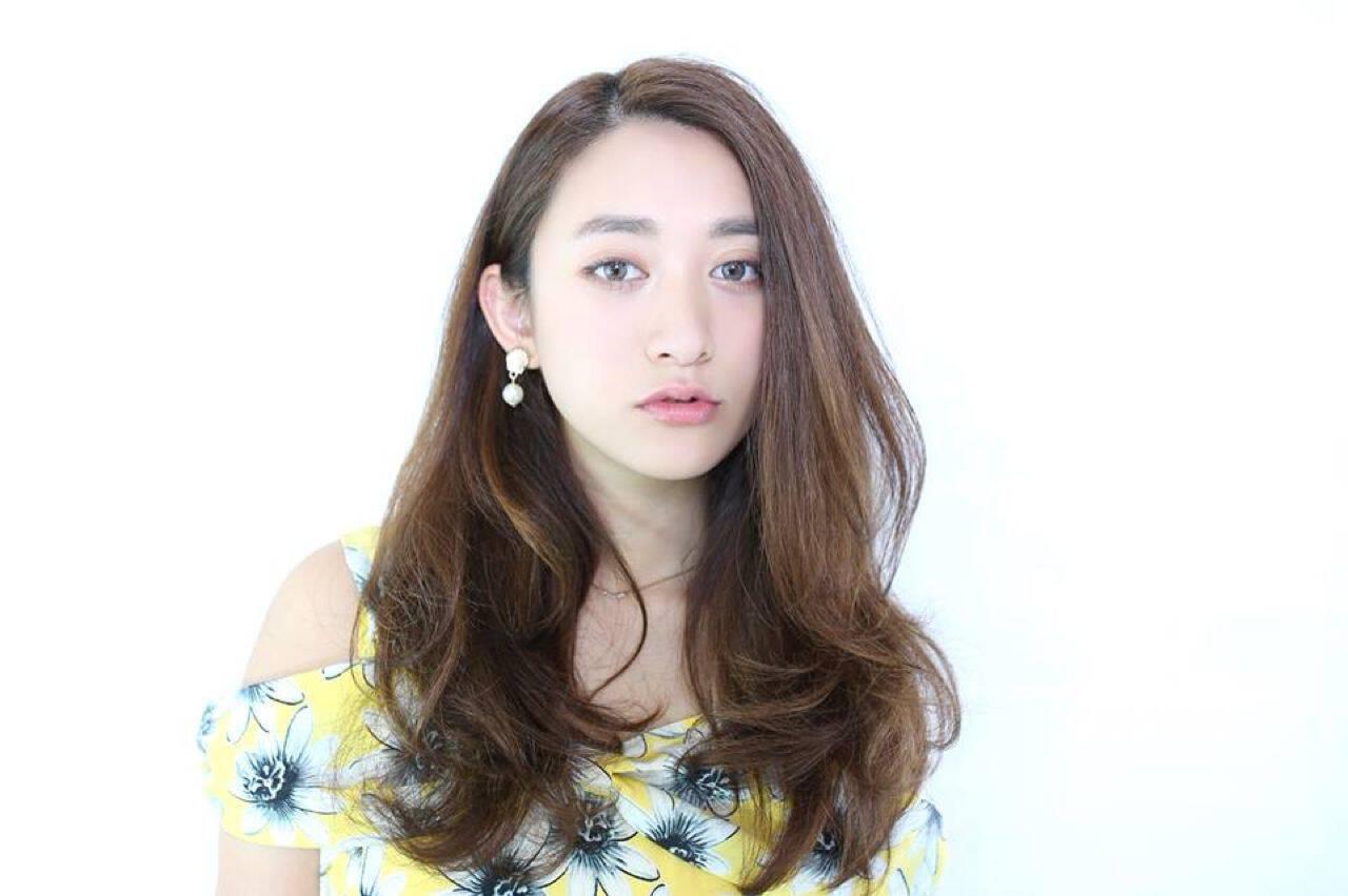 モテ髪 コンサバ セミロング アンニュイヘアスタイルや髪型の写真・画像