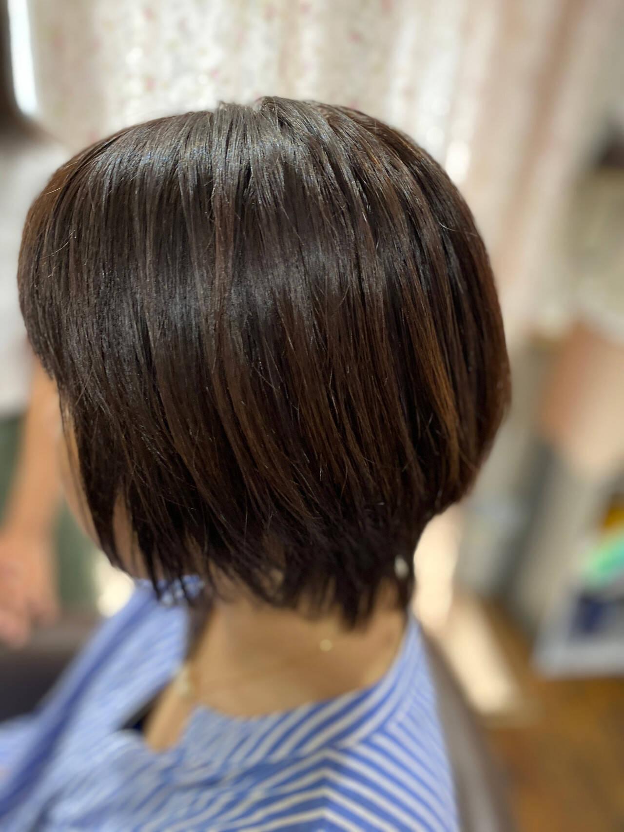 モード ショートヘア ショートボブ ベリーショートヘアスタイルや髪型の写真・画像
