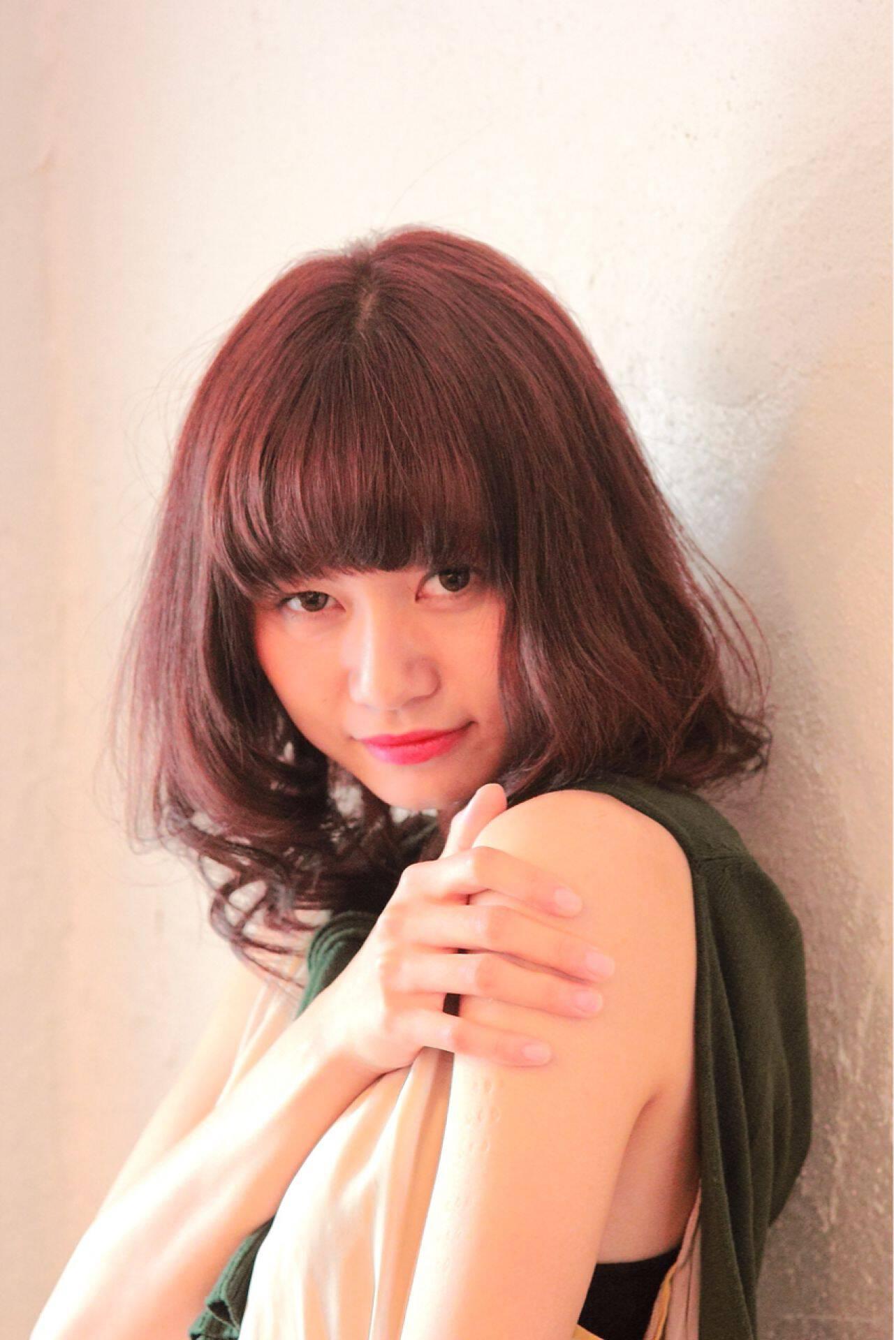 秋 フェミニン ゆるふわ ナチュラルヘアスタイルや髪型の写真・画像