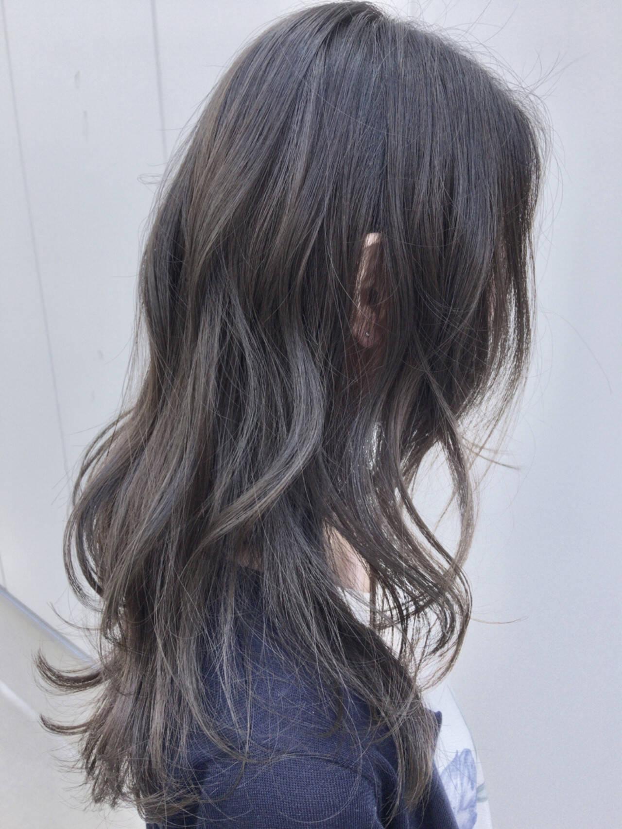 デート ウェーブ 外国人風 外国人風カラーヘアスタイルや髪型の写真・画像