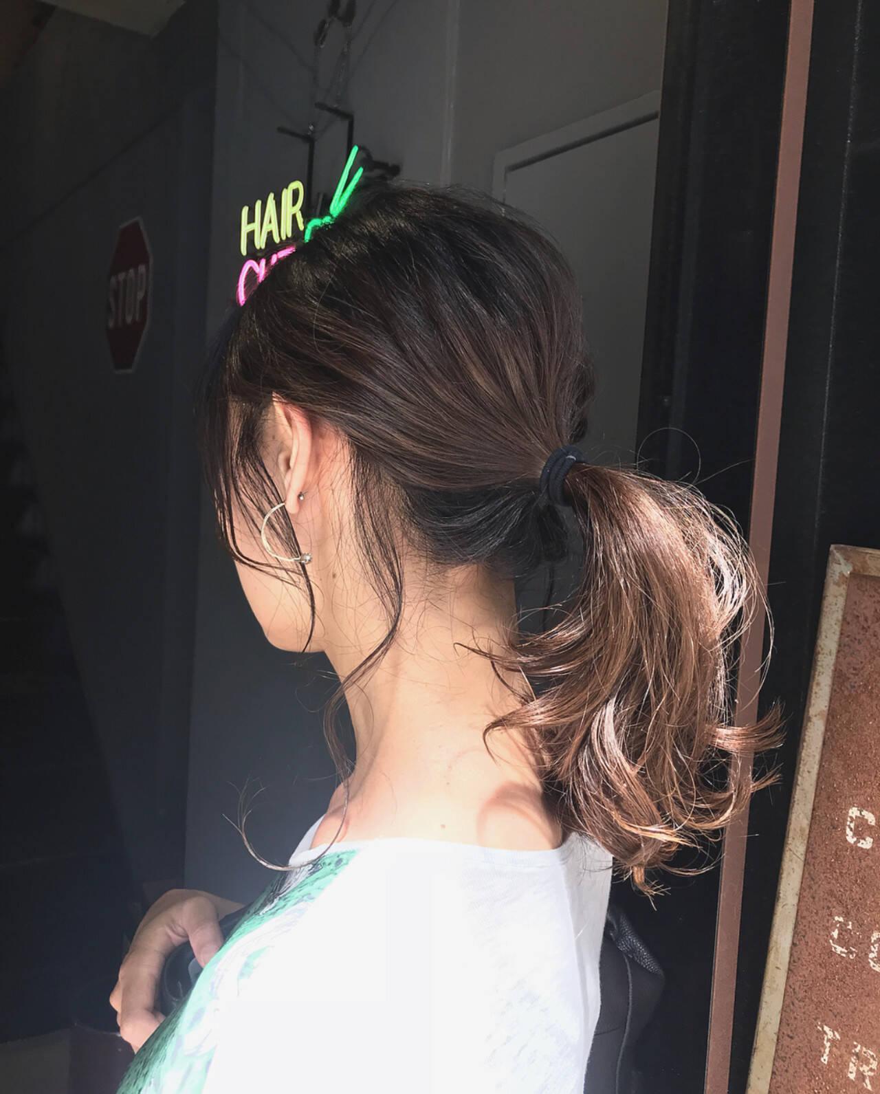 大人カジュアル oggiotto 透明感カラー ナチュラルヘアスタイルや髪型の写真・画像