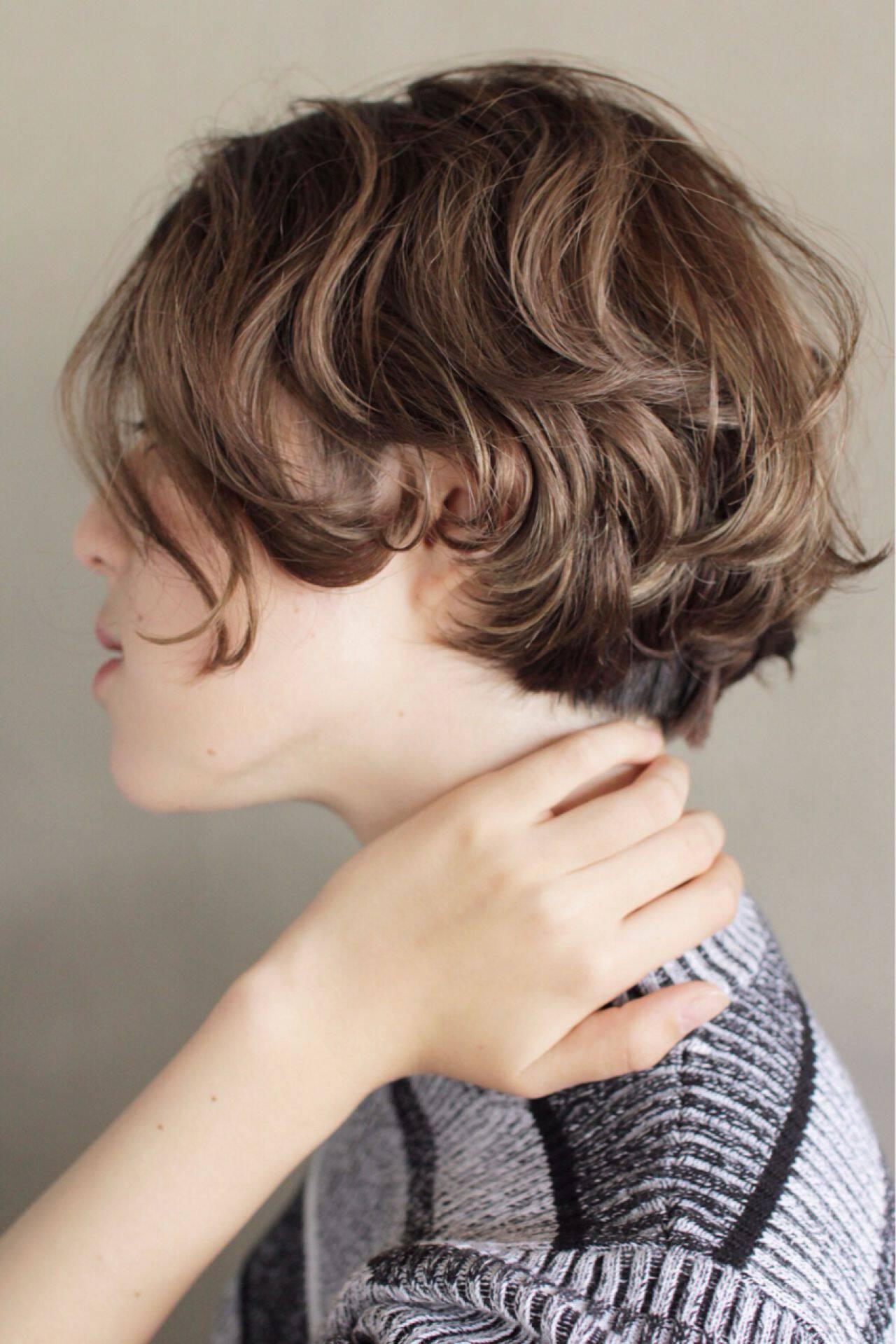 束感 ボブ 抜け感 ナチュラルヘアスタイルや髪型の写真・画像