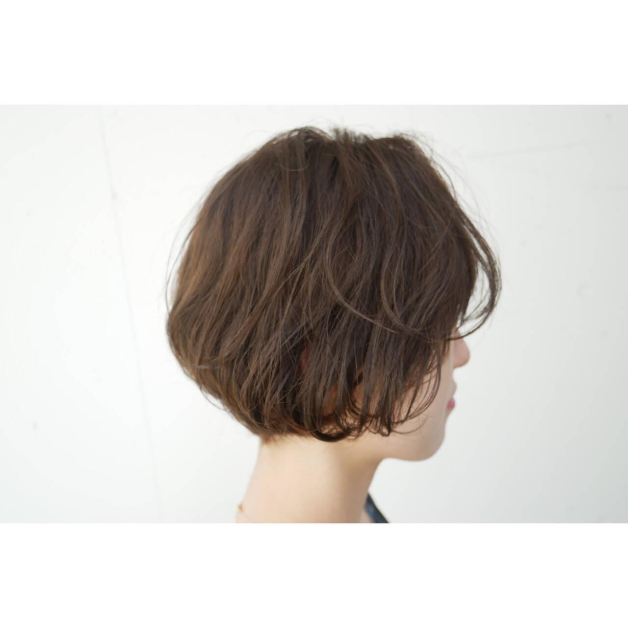ボブ ミニボブ ショートボブ ショートヘアヘアスタイルや髪型の写真・画像