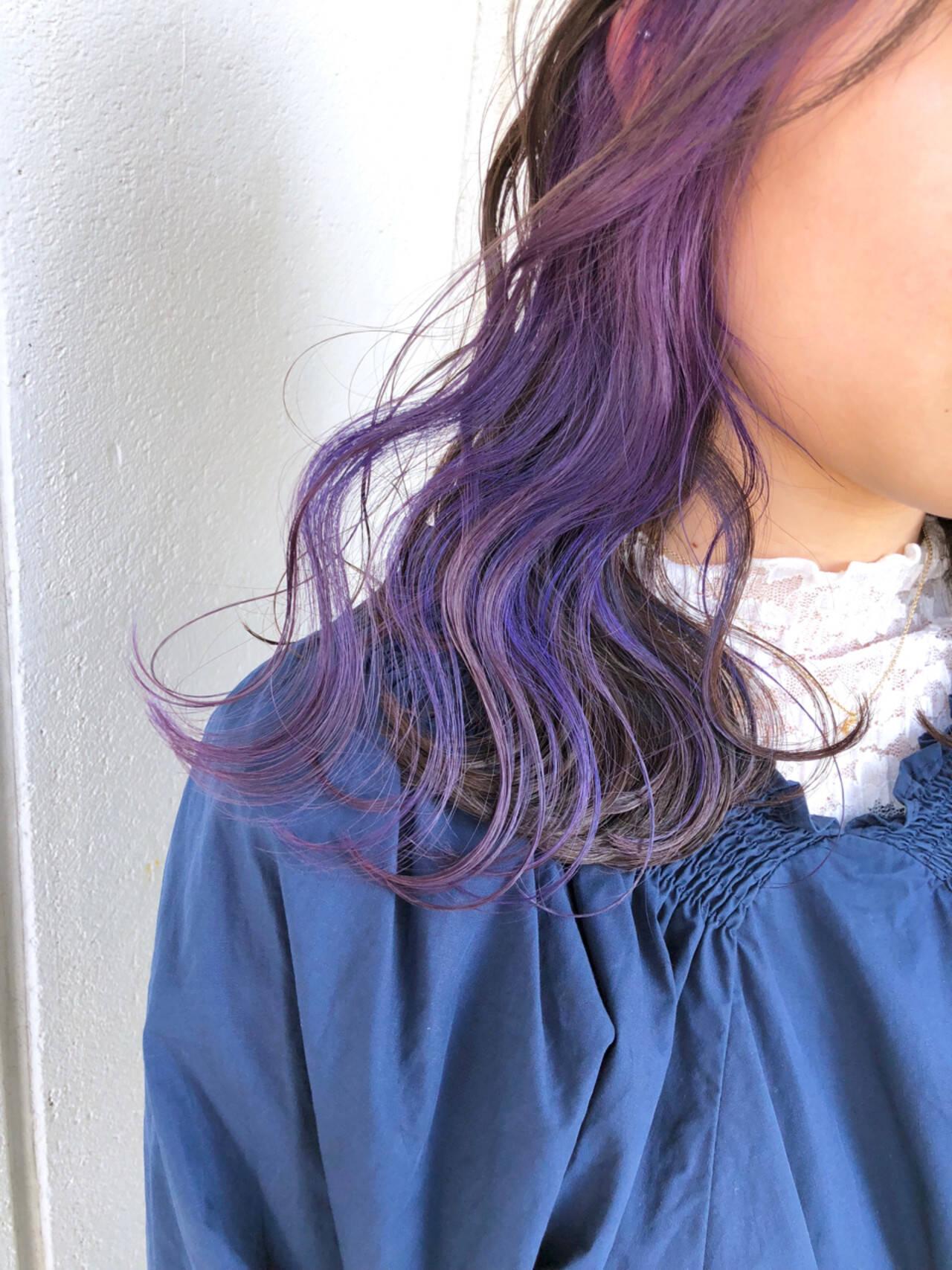 ゆるふわ 外ハネ 透明感 外国人風カラーヘアスタイルや髪型の写真・画像