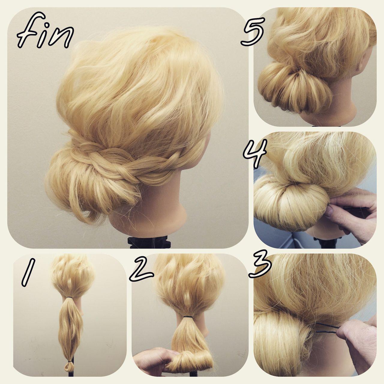 ロング 簡単ヘアアレンジ モテ髪 愛されヘアスタイルや髪型の写真・画像