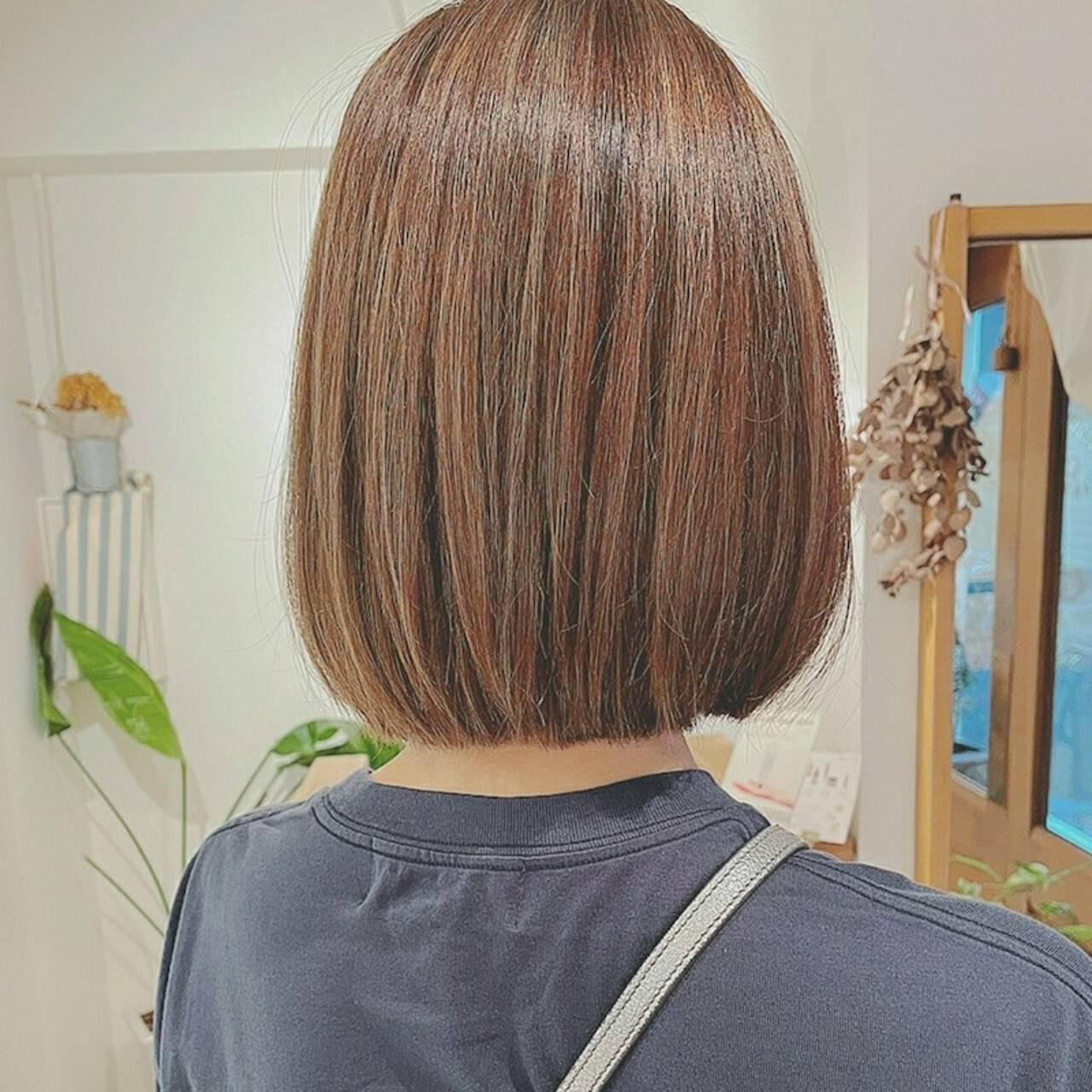 デート お出かけヘア ボブ 大人かわいいヘアスタイルや髪型の写真・画像