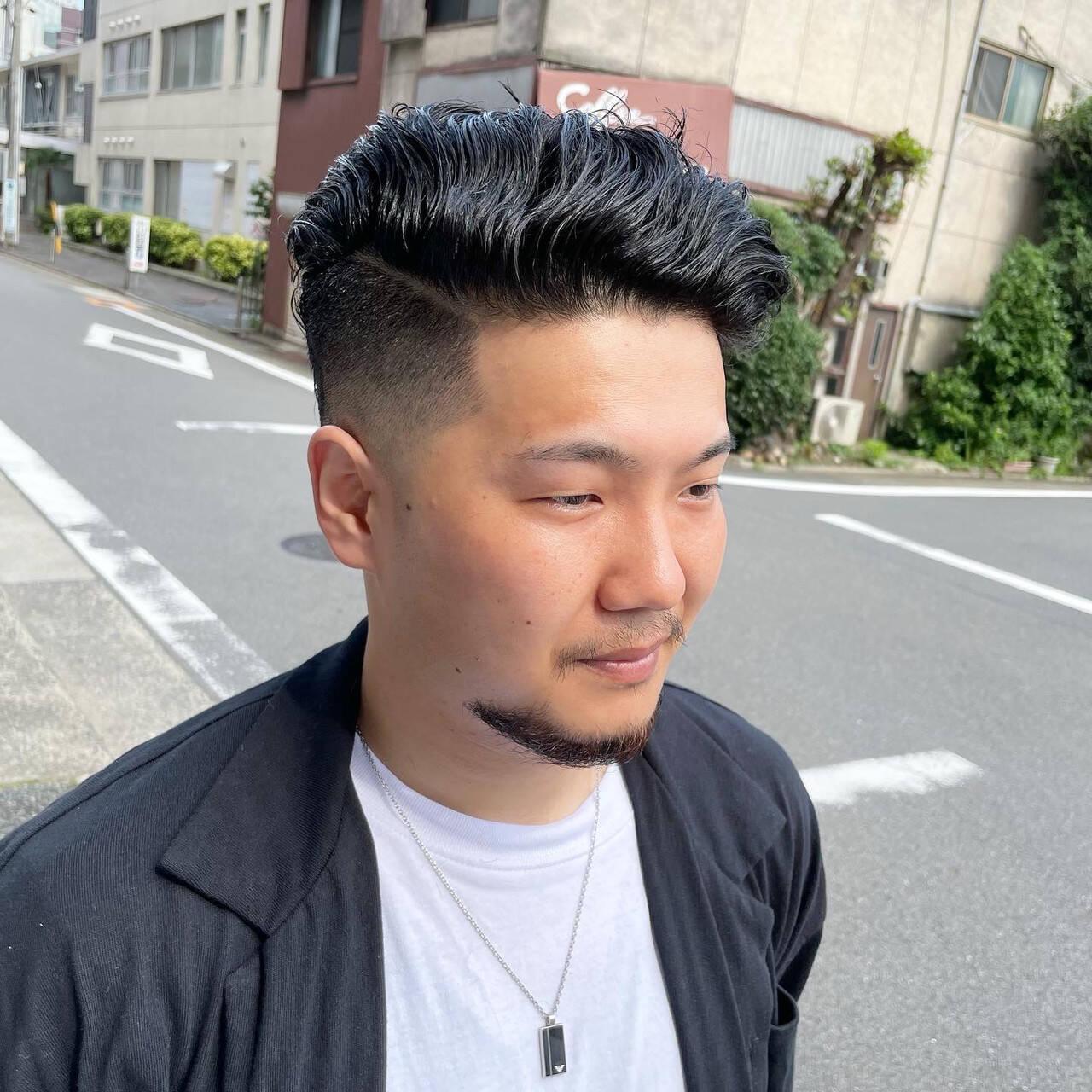 ストリート メンズカット メンズヘア ベリーショートヘアスタイルや髪型の写真・画像
