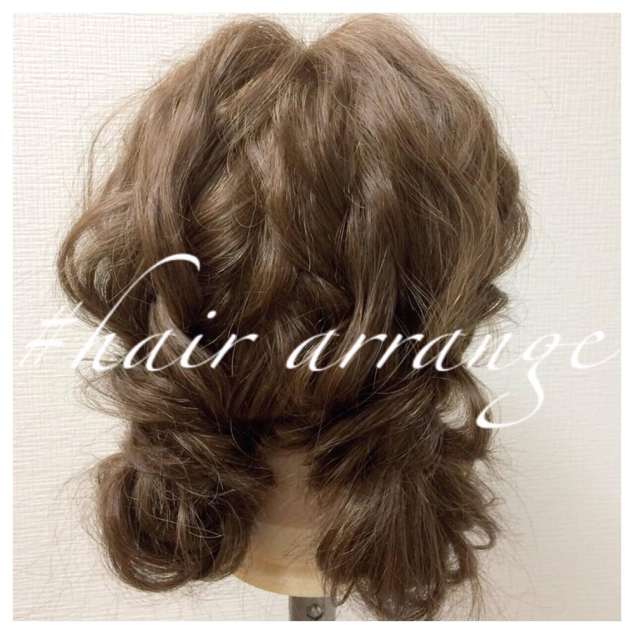裏編み込み ヘアアレンジ ショート ツインテールヘアスタイルや髪型の写真・画像