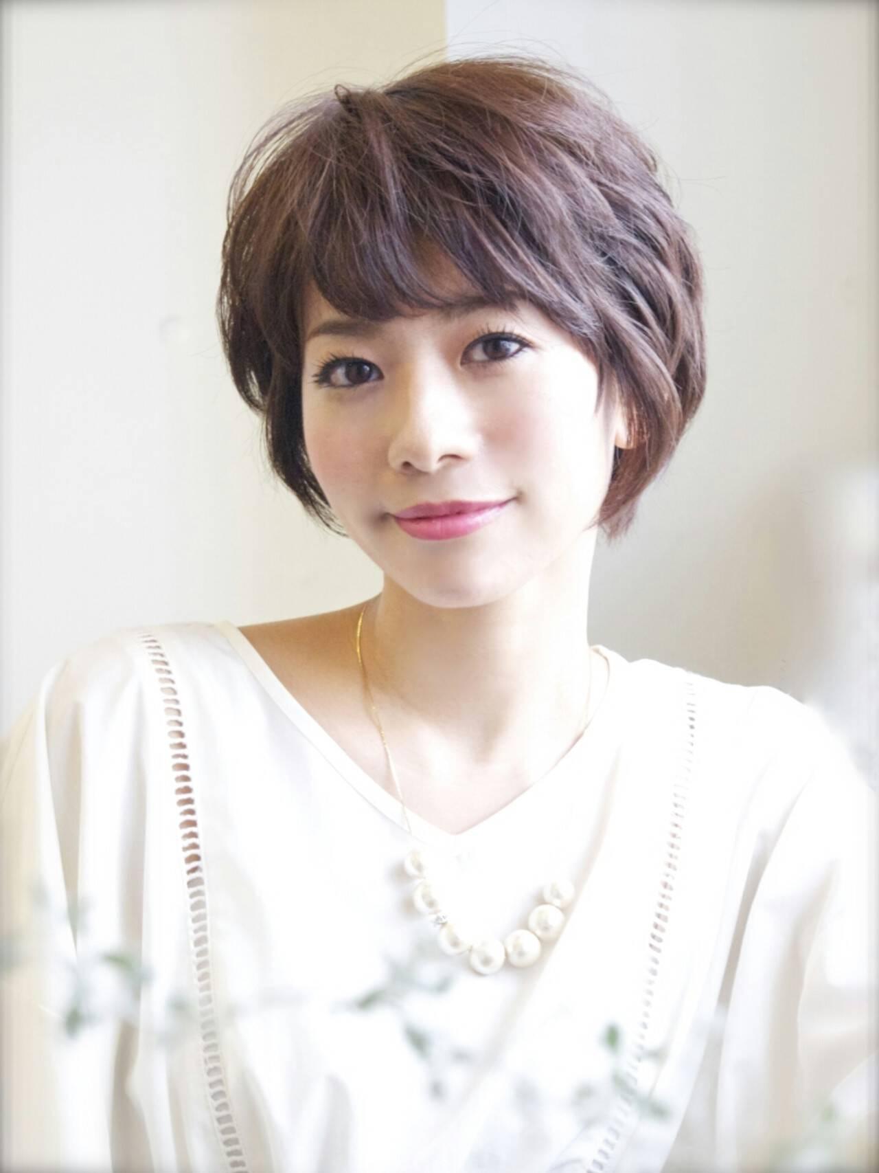 フェミニン パーマ 大人かわいい 簡単ヘアスタイルや髪型の写真・画像